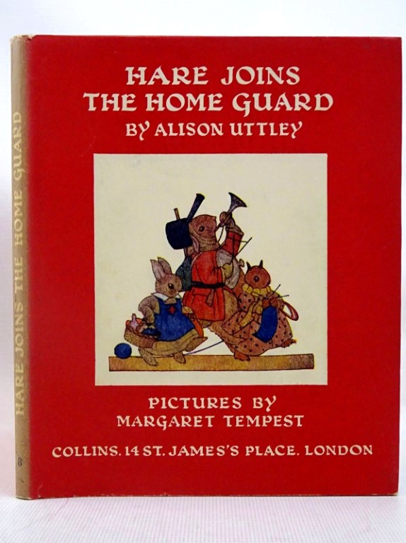 Photo of HARE JOINS THE HOME GUARD written by Uttley, Alison illustrated by Tempest, Margaret published by Collins (STOCK CODE: 1317542)  for sale by Stella & Rose's Books