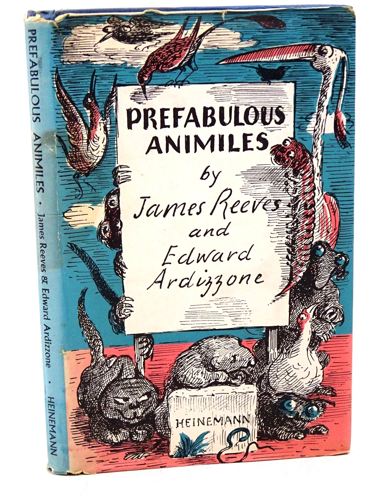 Photo of PREFABULOUS ANIMILES written by Reeves, James illustrated by Ardizzone, Edward published by Heinemann (STOCK CODE: 1317578)  for sale by Stella & Rose's Books