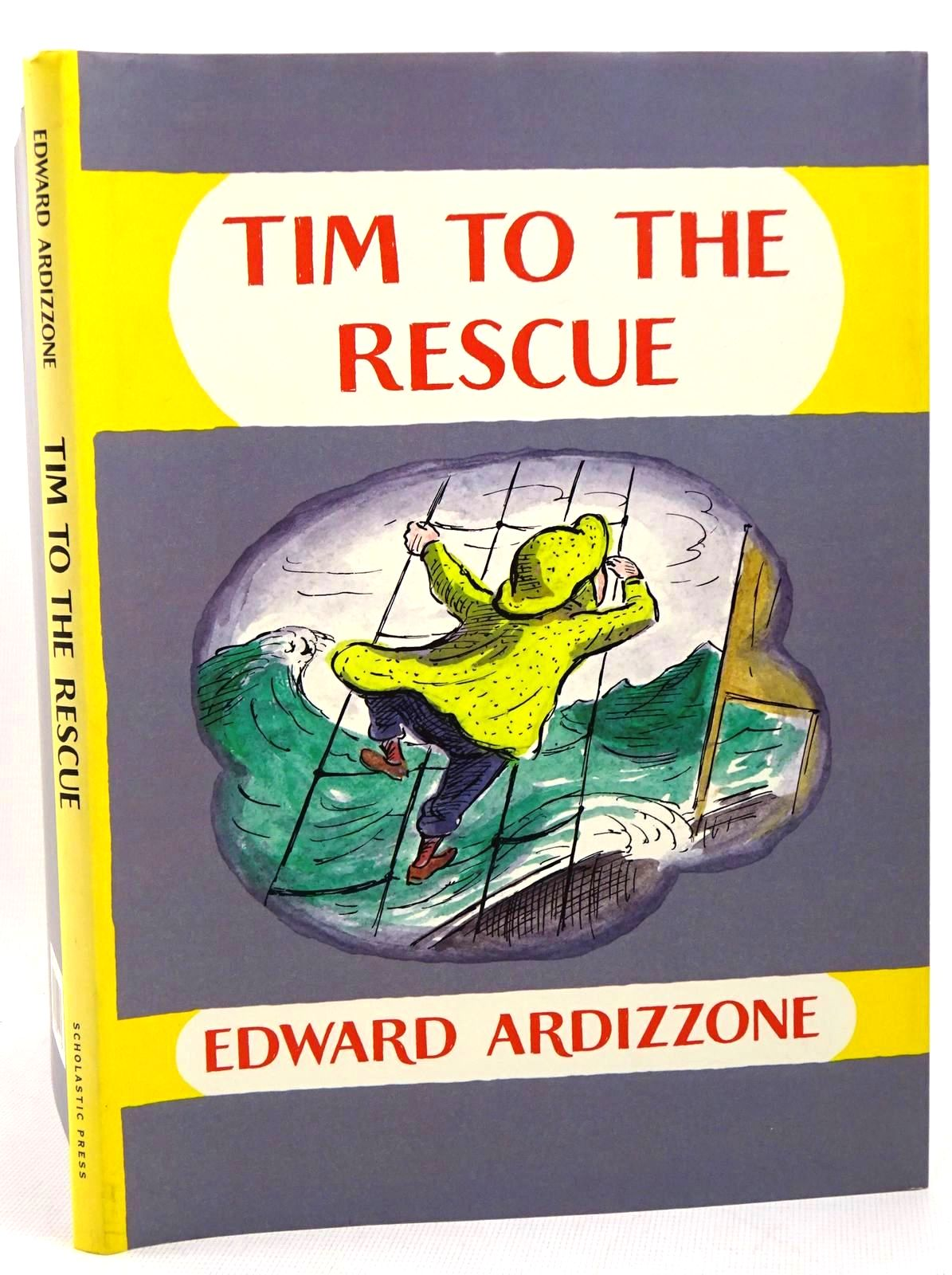 Photo of TIM TO THE RESCUE written by Ardizzone, Edward illustrated by Ardizzone, Edward published by Scholastic Press (STOCK CODE: 1317591)  for sale by Stella & Rose's Books