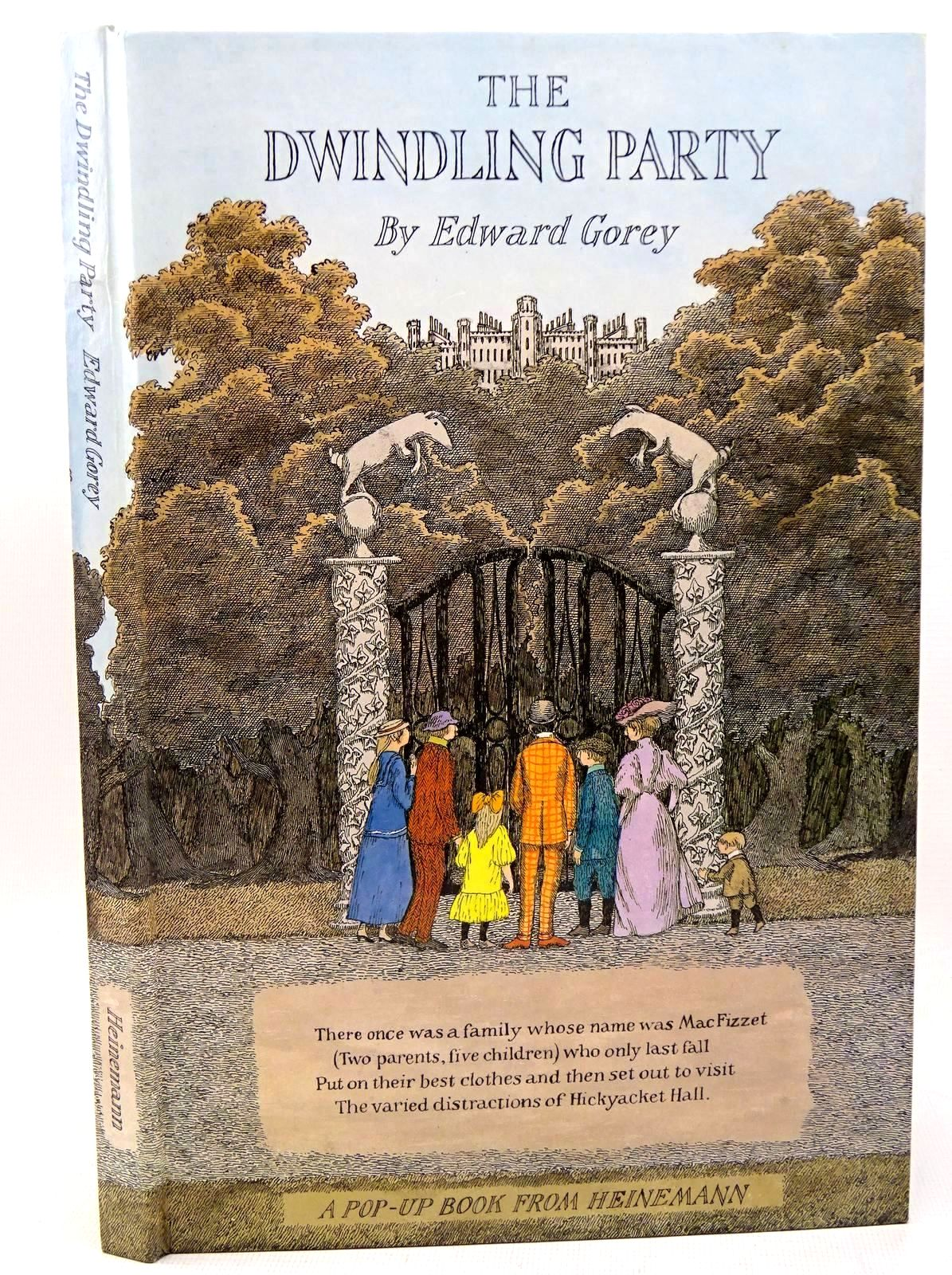 Photo of THE DWINDLING PARTY written by Gorey, Edward illustrated by Gorey, Edward published by William Heinemann Ltd. (STOCK CODE: 1317611)  for sale by Stella & Rose's Books