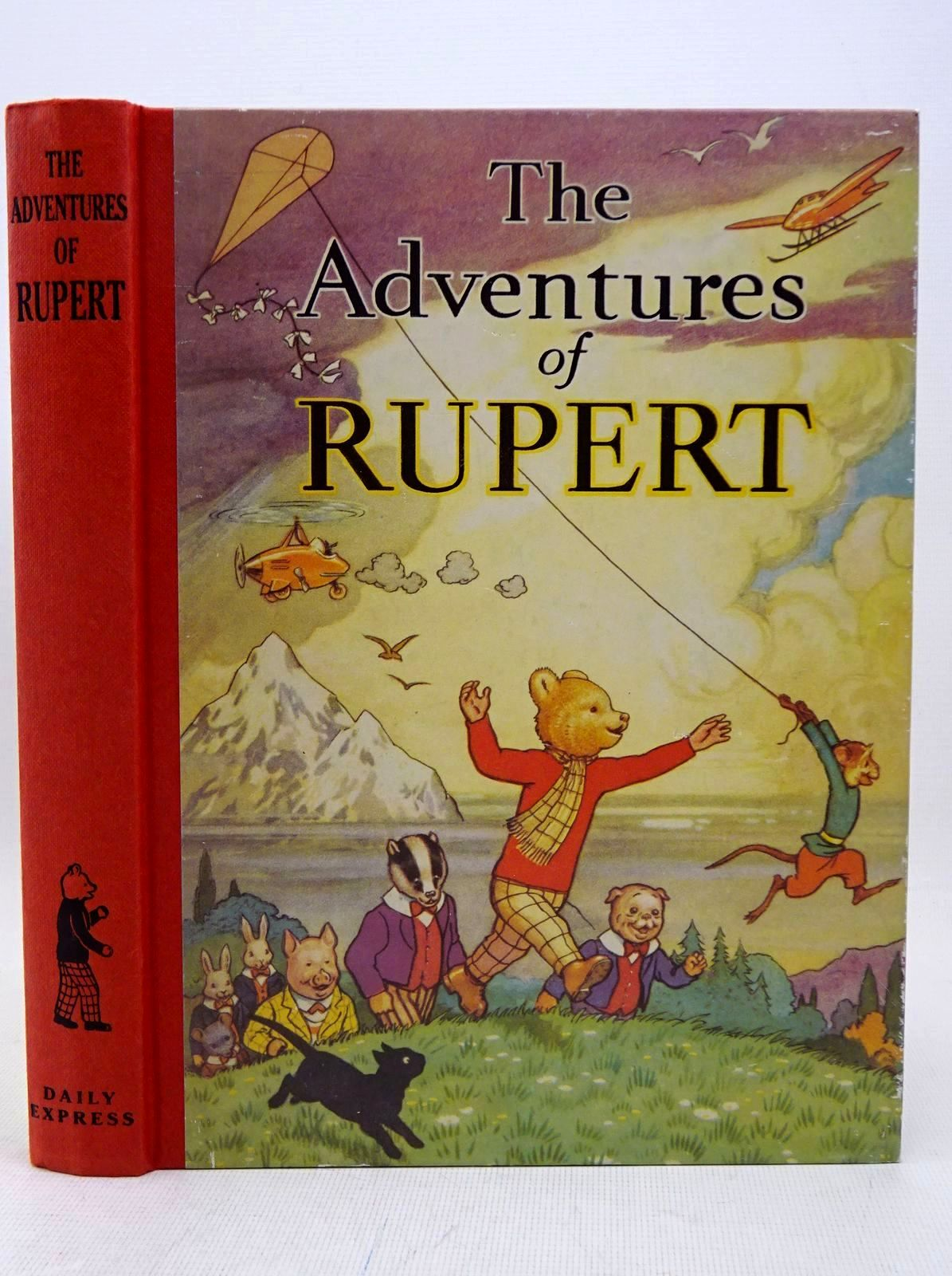 Photo of RUPERT ANNUAL 1939 (FACSIMILE) - THE ADVENTURES OF RUPERT written by Bestall, Alfred illustrated by Bestall, Alfred published by Daily Express (STOCK CODE: 1317653)  for sale by Stella & Rose's Books