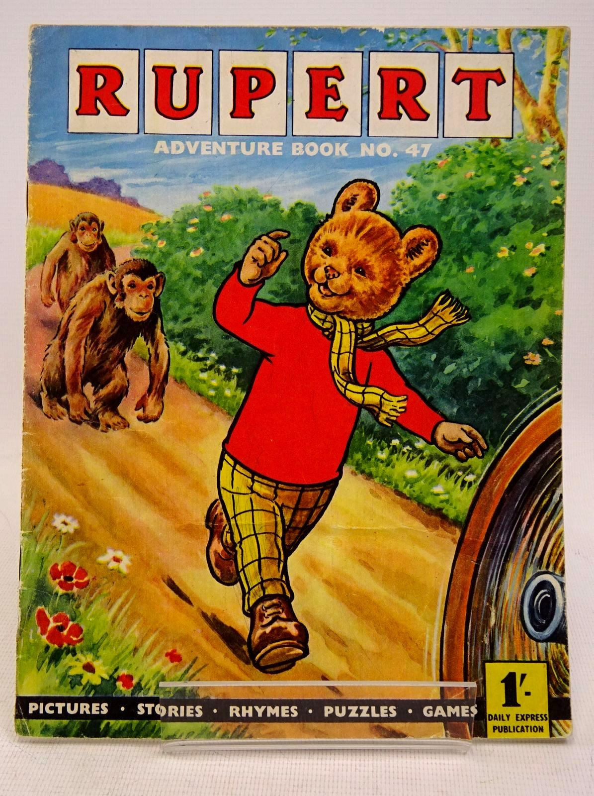 Photo of RUPERT ADVENTURE BOOK No. 47 written by Bestall, Alfred published by Daily Express (STOCK CODE: 1317657)  for sale by Stella & Rose's Books