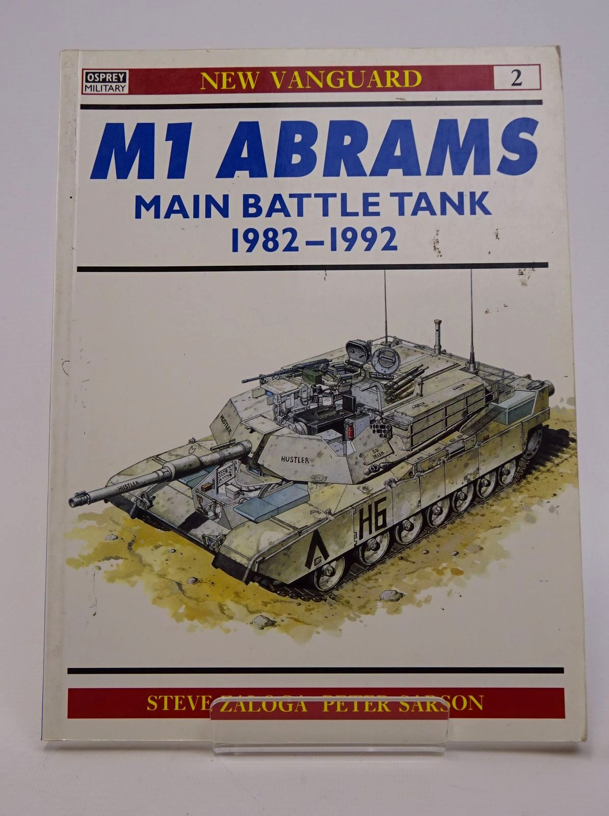 Photo of M1 ABRAMS MAIN BATTLE TANK 1982-1992 written by Zaloga, Steven J. illustrated by Sarson, Peter published by Osprey Publishing (STOCK CODE: 1317711)  for sale by Stella & Rose's Books