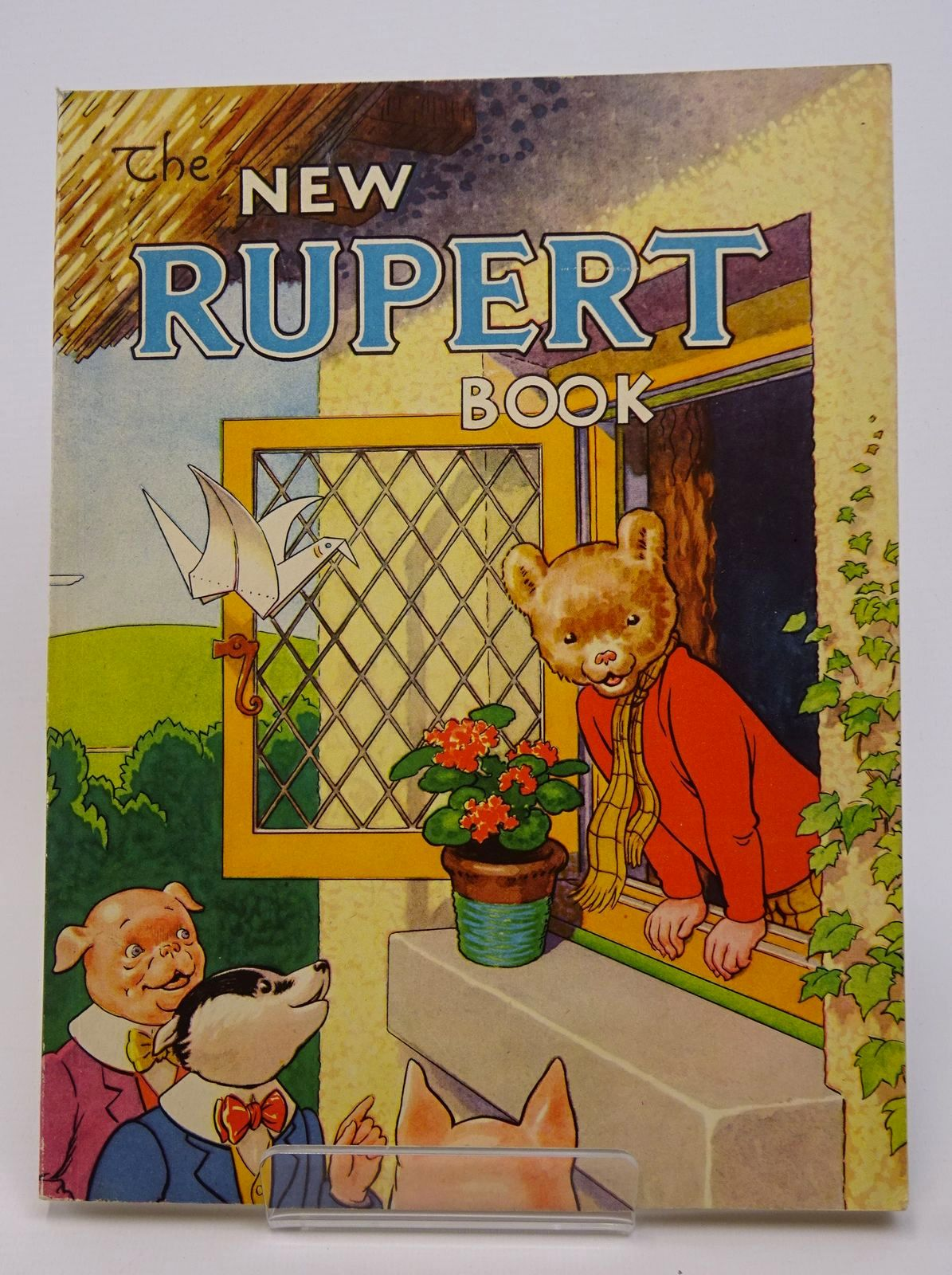 Photo of RUPERT ANNUAL 1946 - THE NEW RUPERT BOOK written by Bestall, Alfred illustrated by Bestall, Alfred published by Daily Express (STOCK CODE: 1317714)  for sale by Stella & Rose's Books