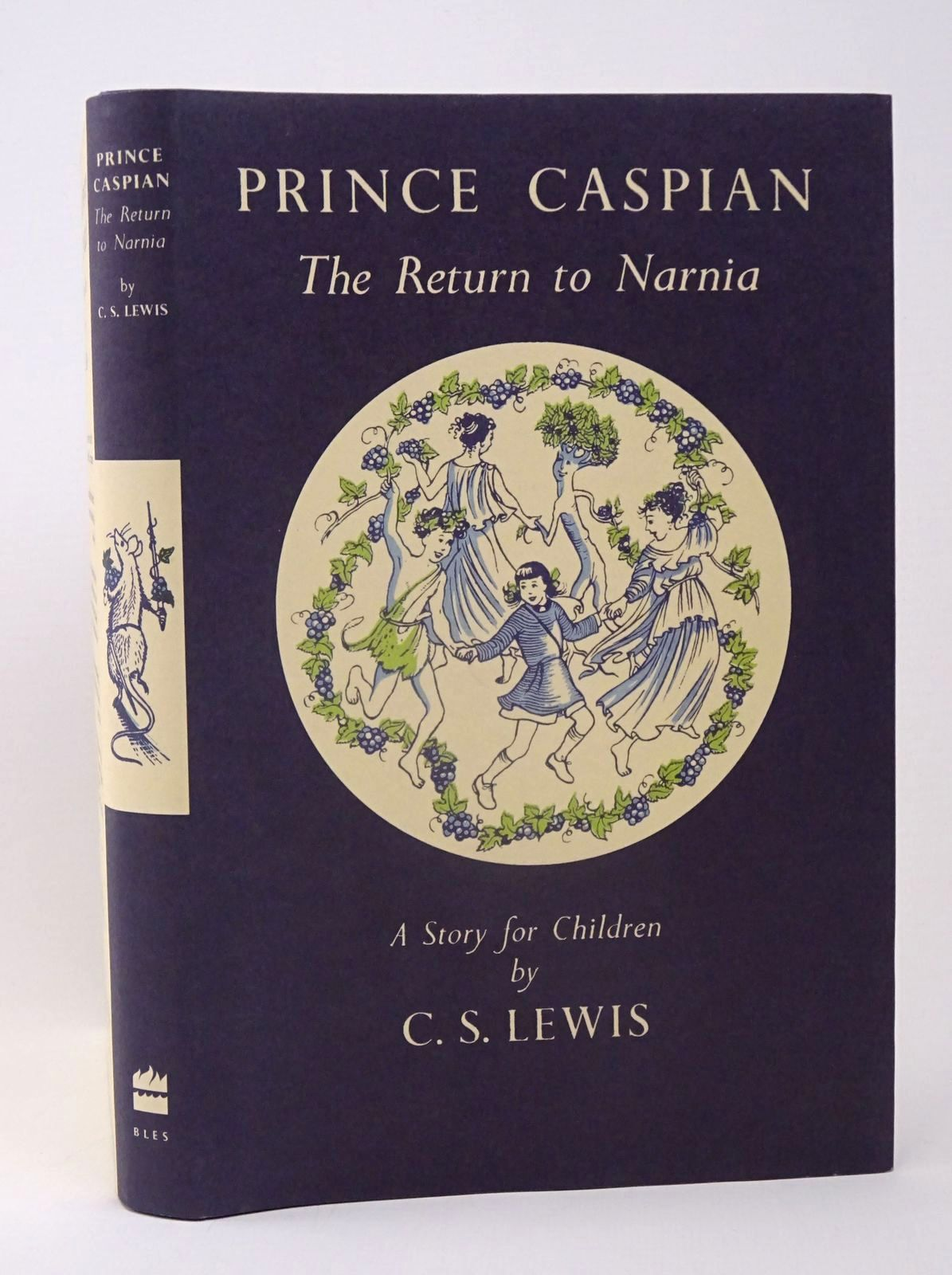 Photo of PRINCE CASPIAN written by Lewis, C.S. illustrated by Baynes, Pauline published by Harpercollins Publishers Ltd (STOCK CODE: 1317719)  for sale by Stella & Rose's Books