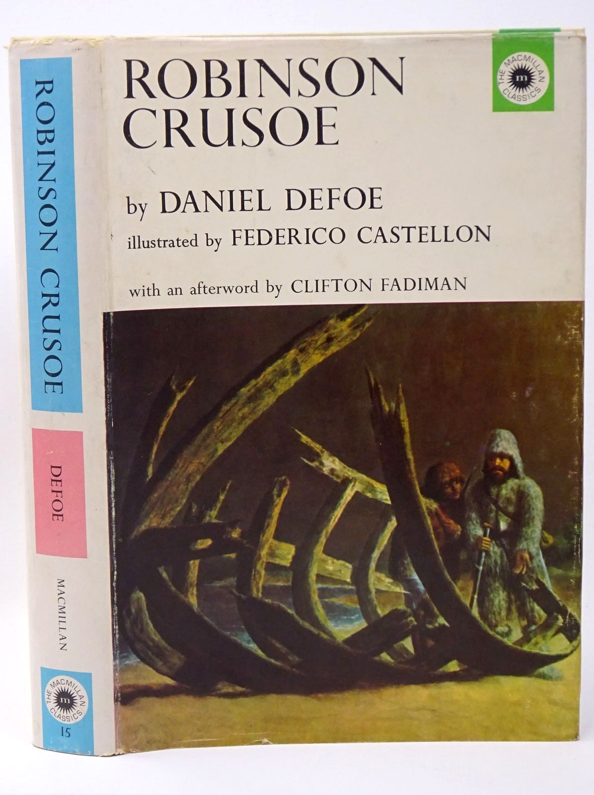 Photo of ROBINSON CRUSOE written by Defoe, Daniel illustrated by Castellon, Federico published by The Macmillan Company (STOCK CODE: 1317724)  for sale by Stella & Rose's Books