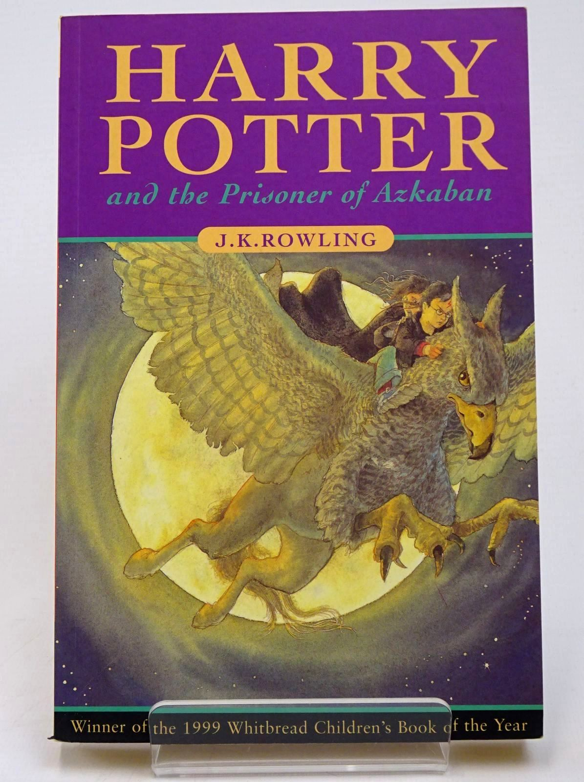 Photo of HARRY POTTER AND THE PRISONER OF AZKABAN written by Rowling, J.K. published by Bloomsbury Books (STOCK CODE: 1317771)  for sale by Stella & Rose's Books