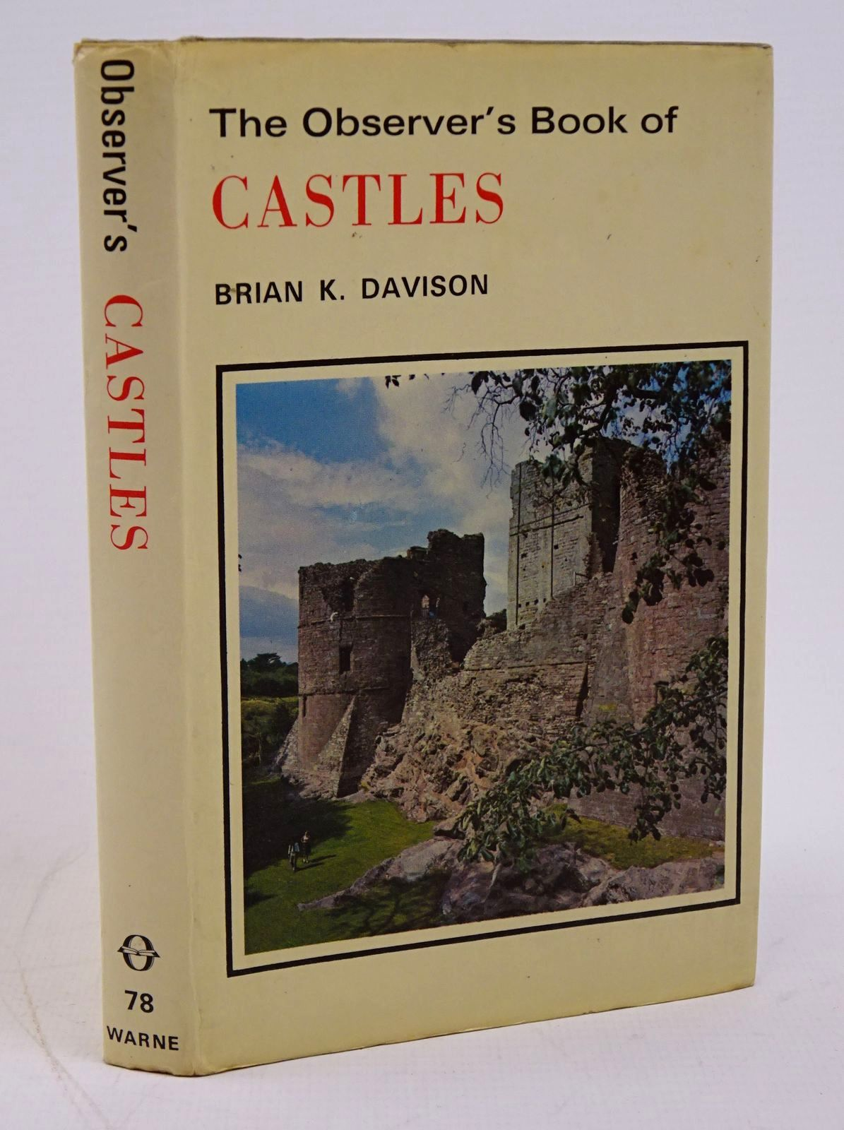 Photo of THE OBSERVER'S BOOK OF CASTLES written by Davison, Brian K. illustrated by Dimond, Jasper published by Frederick Warne (STOCK CODE: 1317786)  for sale by Stella & Rose's Books
