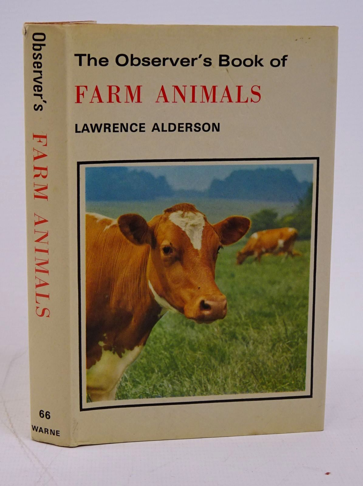 Photo of THE OBSERVER'S BOOK OF FARM ANIMALS written by Alderson, Lawrence published by Frederick Warne (STOCK CODE: 1317788)  for sale by Stella & Rose's Books