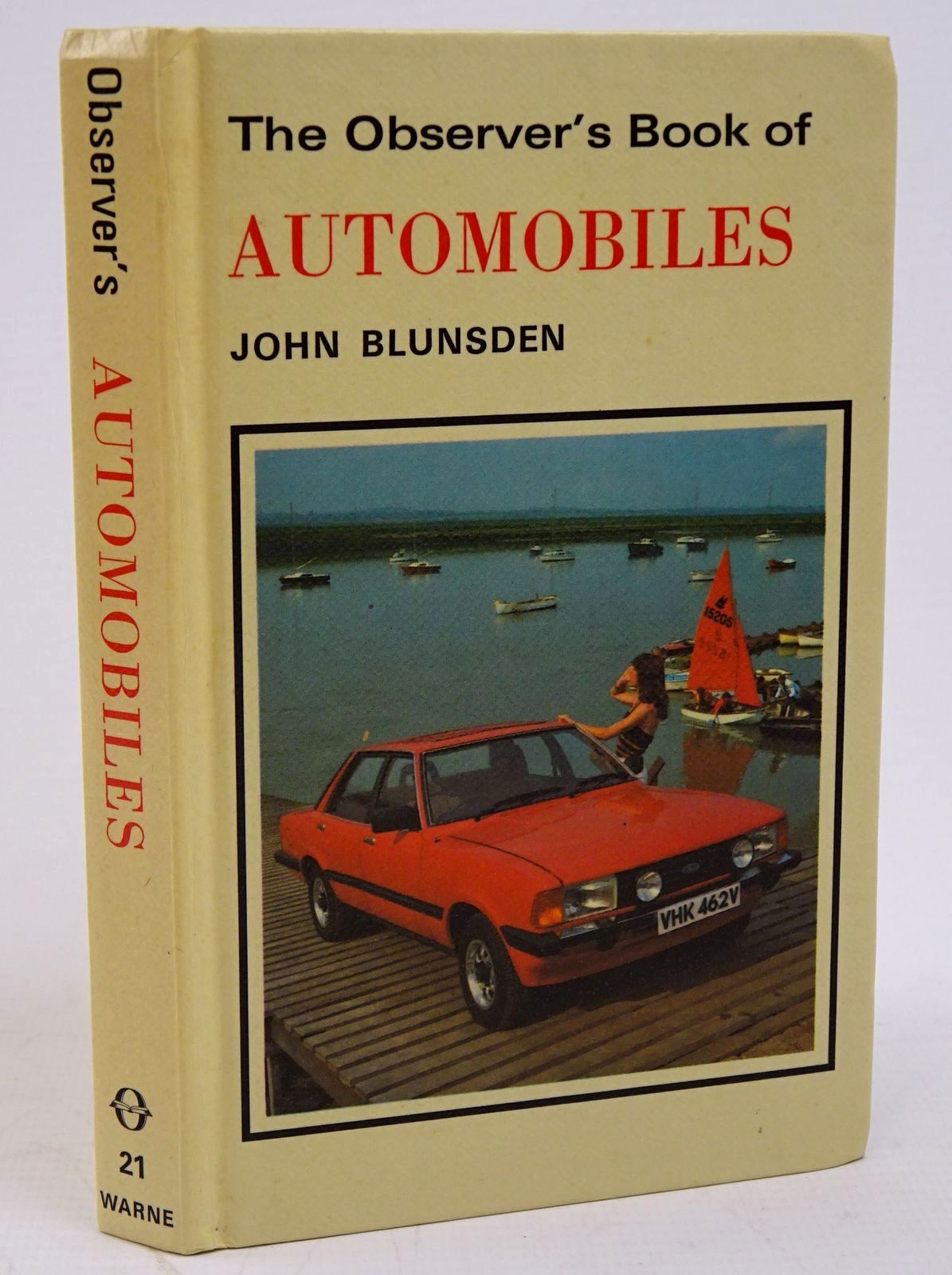 Photo of THE OBSERVER'S BOOK OF AUTOMOBILES written by Blunsden, John published by Frederick Warne (STOCK CODE: 1317790)  for sale by Stella & Rose's Books
