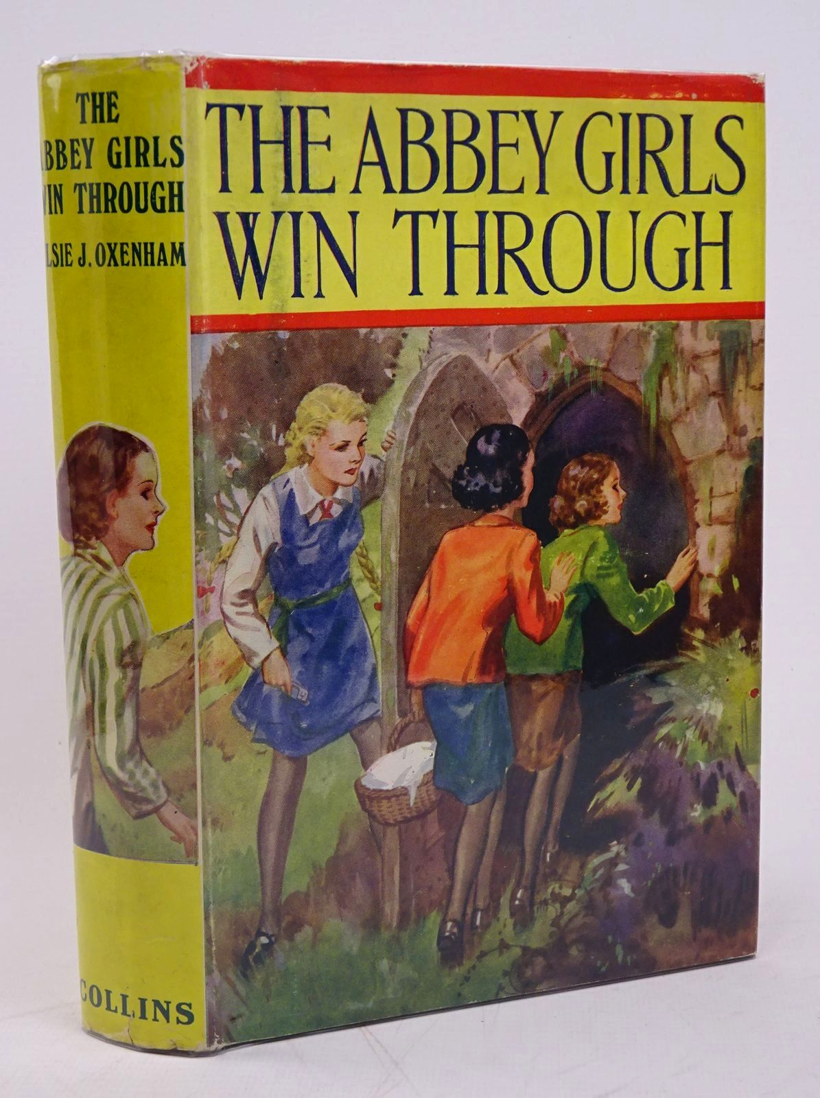 Photo of THE ABBEY GIRLS WIN THROUGH written by Oxenham, Elsie J. published by Collins (STOCK CODE: 1317837)  for sale by Stella & Rose's Books