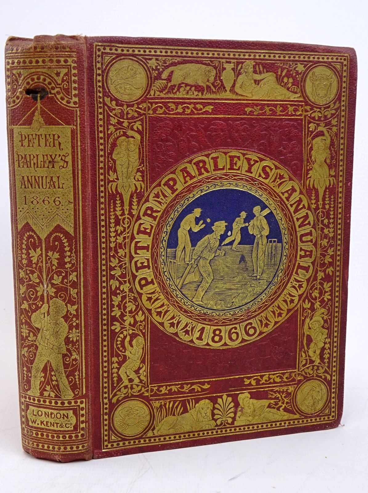 Photo of PETER PARLEY'S ANNUAL 1866 written by Parley, Peter published by William Kent & Co. (STOCK CODE: 1317851)  for sale by Stella & Rose's Books