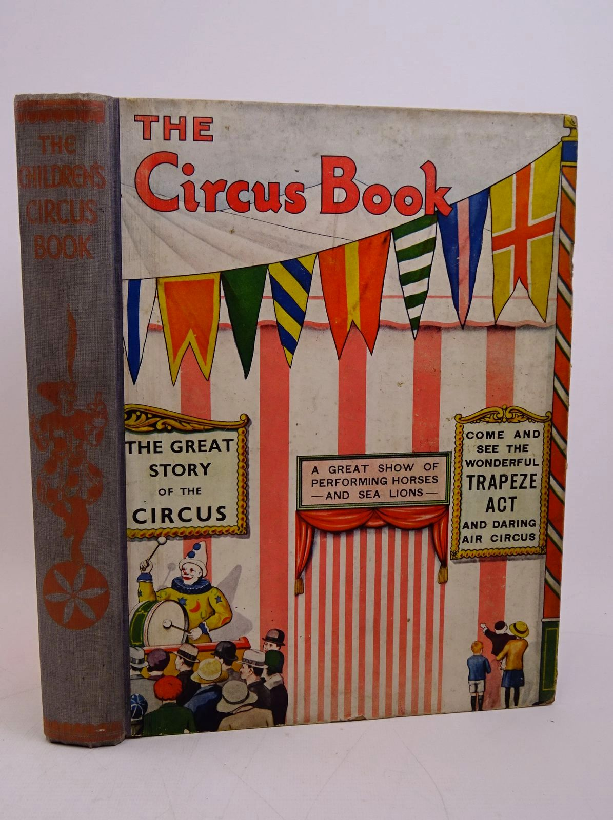 Photo of THE CHILDREN'S CIRCUS BOOK written by Brent-Dyer, Elinor M.<br />Harding, Robert<br />et al,  illustrated by Mayo, Eileen<br />Payne, Wyndham published by Associated Newspapers Ltd. (STOCK CODE: 1317854)  for sale by Stella & Rose's Books