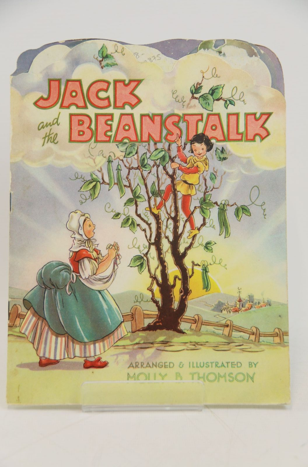 Photo of JACK AND THE BEANSTALK written by Thomson, Molly B. illustrated by Thomson, Molly B. published by Collins Clear-Type Press (STOCK CODE: 1317875)  for sale by Stella & Rose's Books