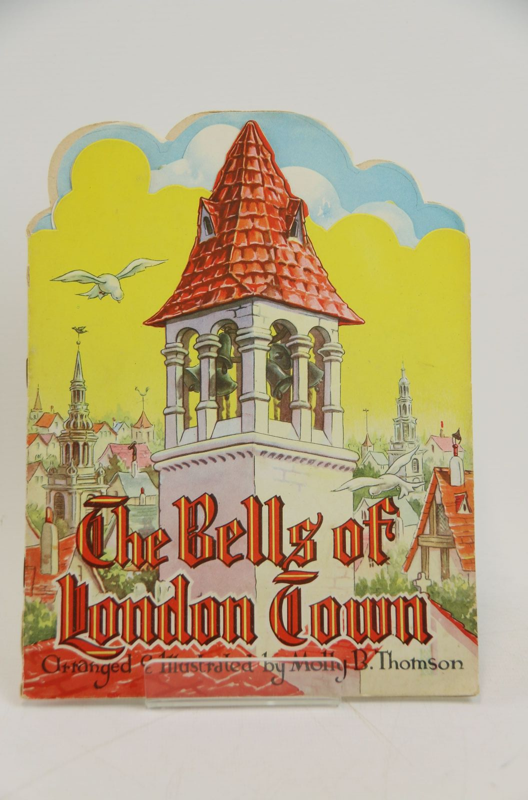 Photo of THE BELLS OF LONDON TOWN written by Thomson, Molly B. illustrated by Thomson, Molly B. published by Collins Clear-Type Press (STOCK CODE: 1317876)  for sale by Stella & Rose's Books