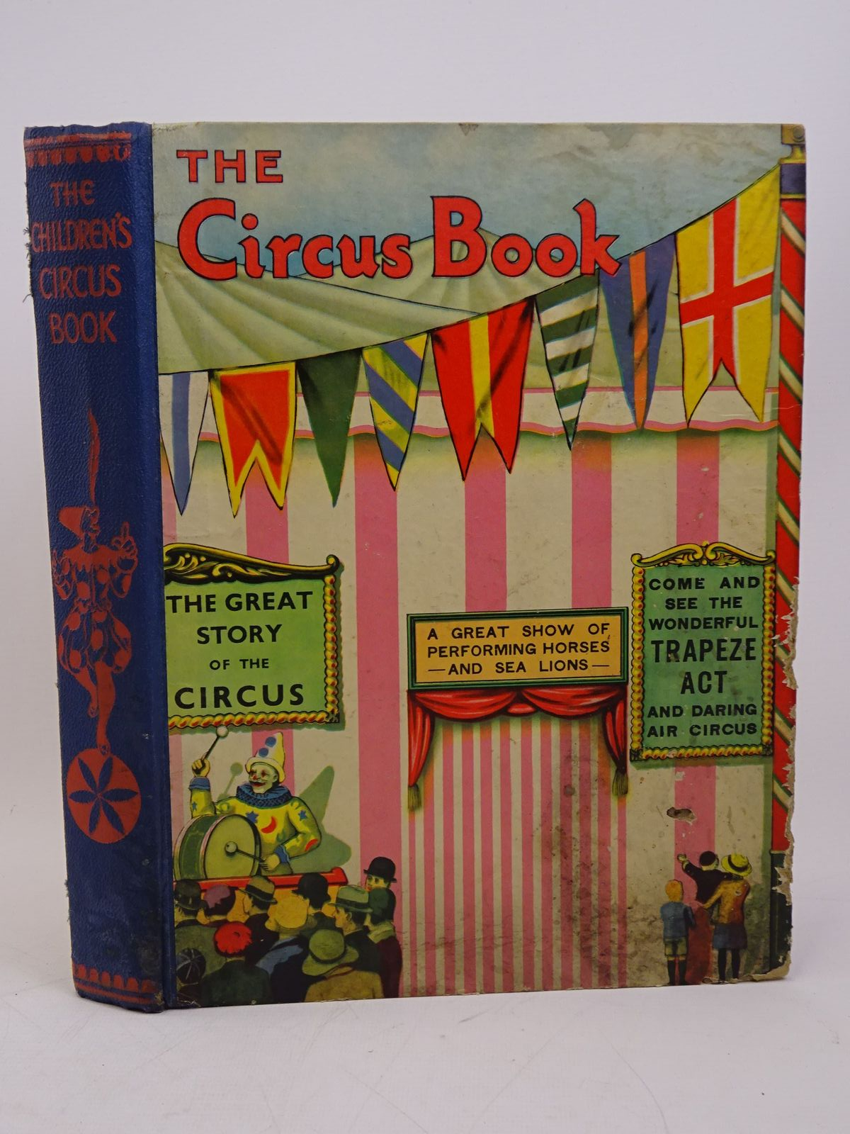 Photo of THE CHILDREN'S CIRCUS BOOK written by Brent-Dyer, Elinor M.<br />Harding, Robert<br />et al,  illustrated by Mayo, Eileen<br />Payne, Wyndham published by Associated Newspapers Ltd. (STOCK CODE: 1317904)  for sale by Stella & Rose's Books