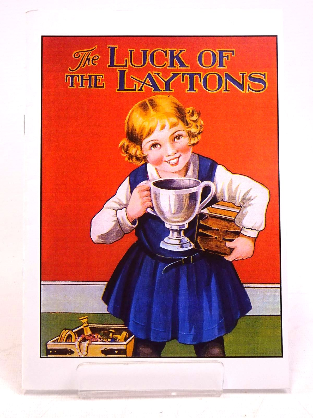 Photo of THE LUCK OF THE LAYTONS written by Blyton, Enid published by Enid Blyton Society (STOCK CODE: 1317927)  for sale by Stella & Rose's Books