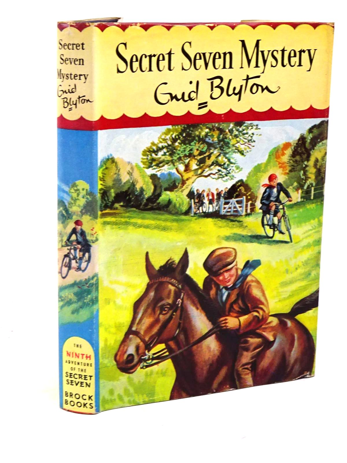 Photo of SECRET SEVEN MYSTERY written by Blyton, Enid illustrated by Sharrocks, Burgess published by Brockhampton Press (STOCK CODE: 1317945)  for sale by Stella & Rose's Books