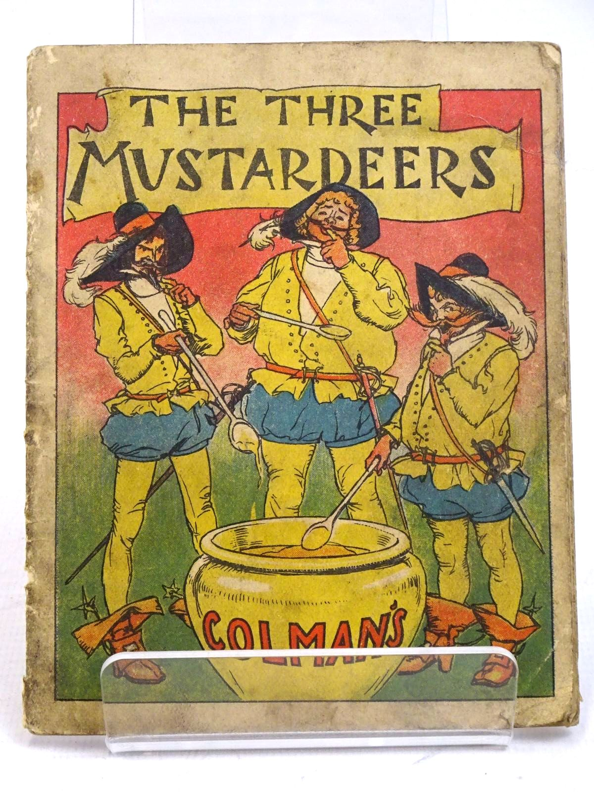 Photo of THE THREE MUSTARDEERS published by Colmans Foods (STOCK CODE: 1317958)  for sale by Stella & Rose's Books
