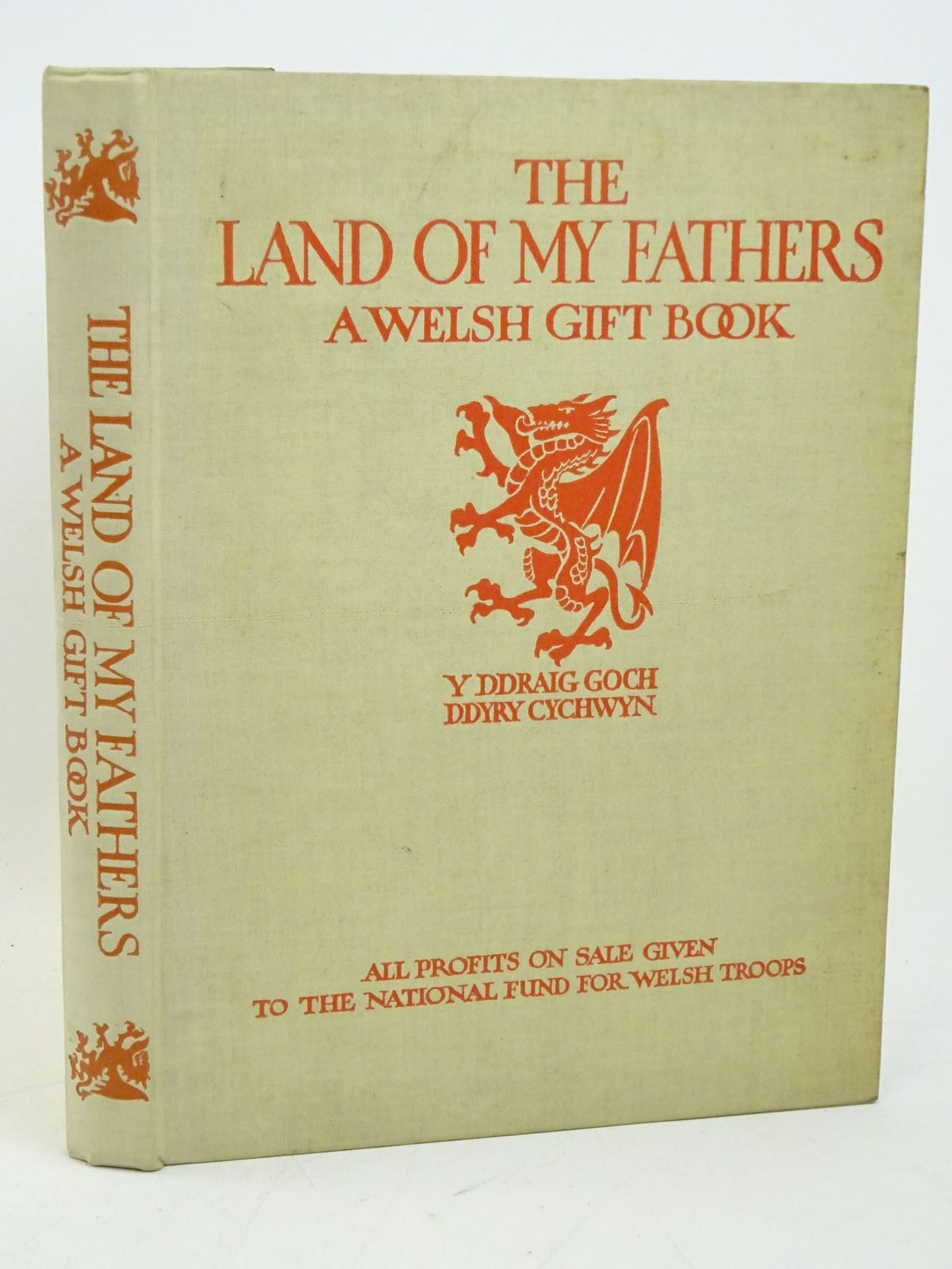 Photo of THE LAND OF MY FATHERS written by Jones, W. Lewis<br />Geoffrey of Monmouth,<br />Watson, William<br />Cambrensis, Giraldus<br />et al, illustrated by Williams, Christopher<br />John, Augustus<br />Brangwyn, Frank<br />et al., published by Hodder & Stoughton (STOCK CODE: 1317977)  for sale by Stella & Rose's Books