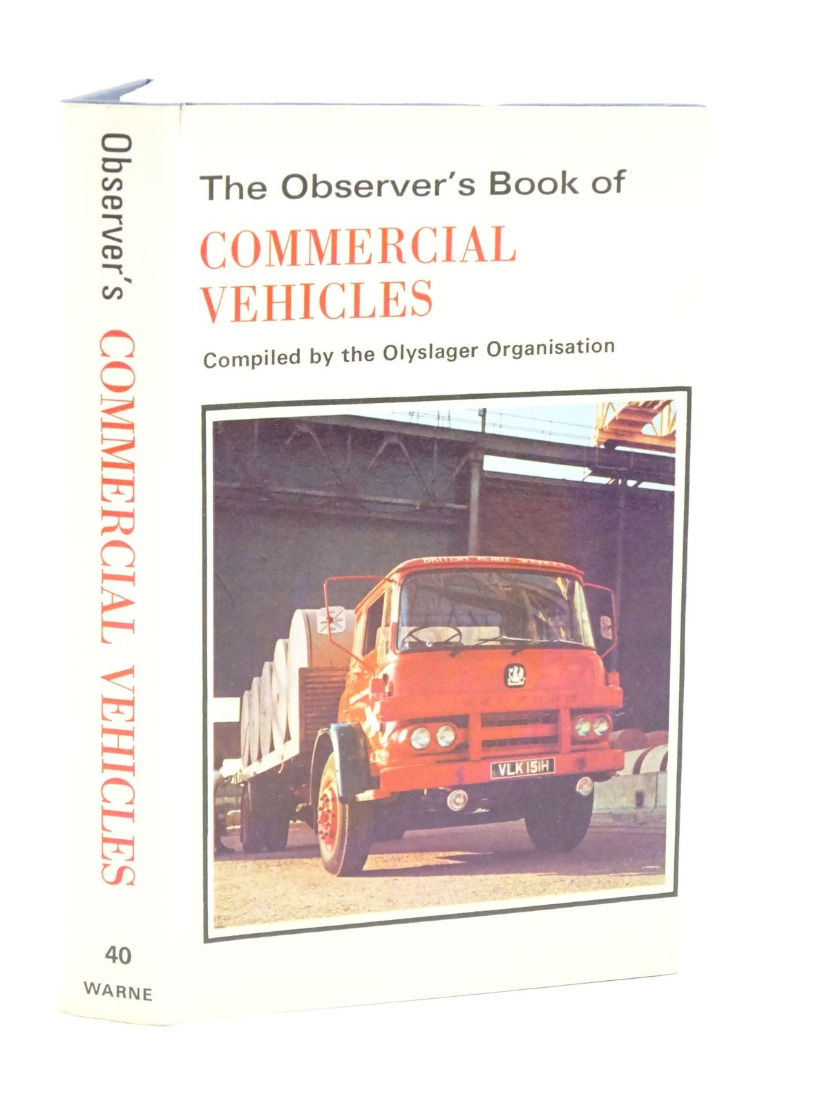 Photo of THE OBSERVER'S BOOK OF COMMERCIAL VEHICLES published by Frederick Warne & Co Ltd. (STOCK CODE: 1318003)  for sale by Stella & Rose's Books