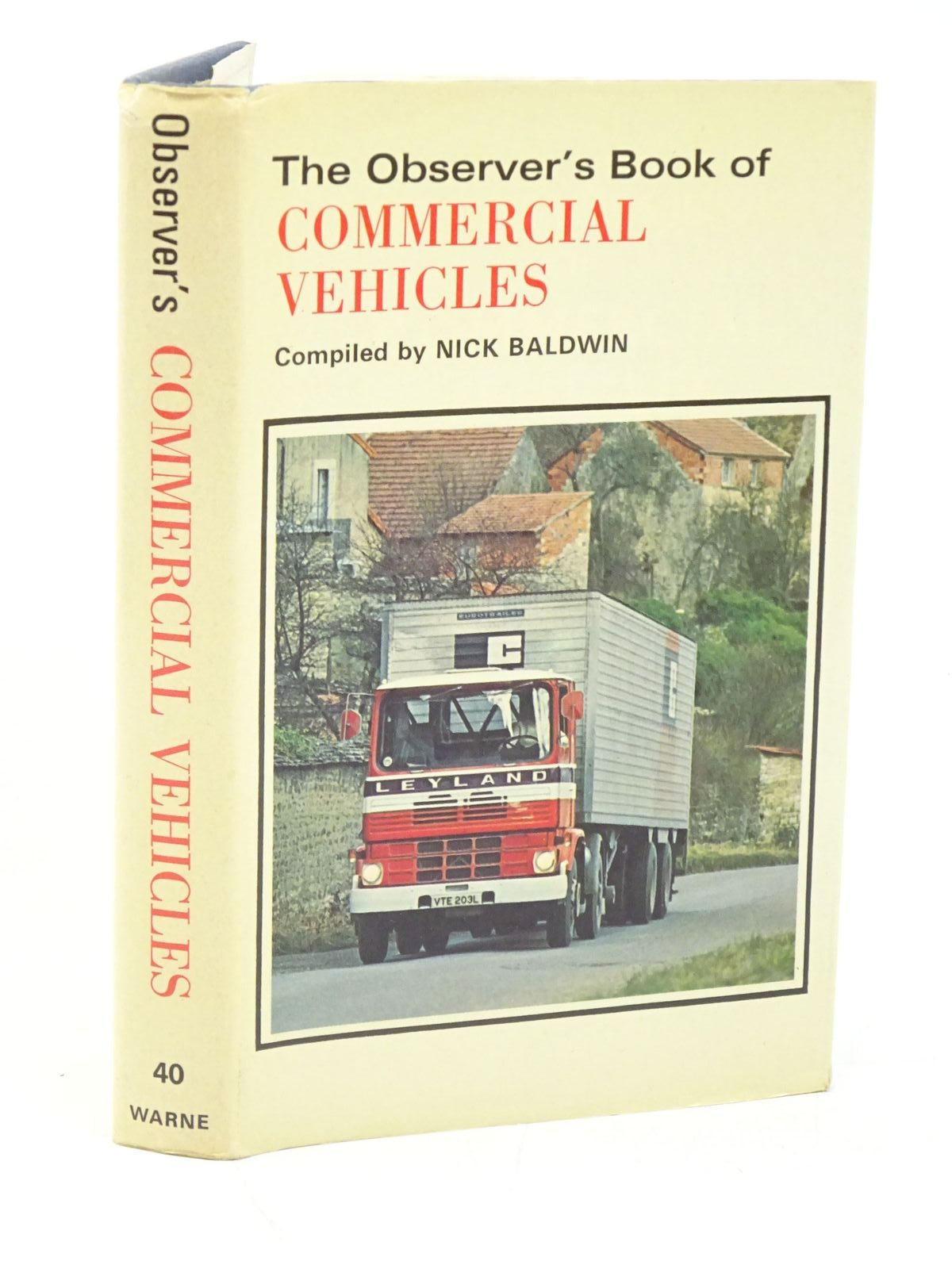 Photo of THE OBSERVER'S BOOK OF COMMERCIAL VEHICLES written by Baldwin, Nick published by Frederick Warne & Co Ltd. (STOCK CODE: 1318008)  for sale by Stella & Rose's Books
