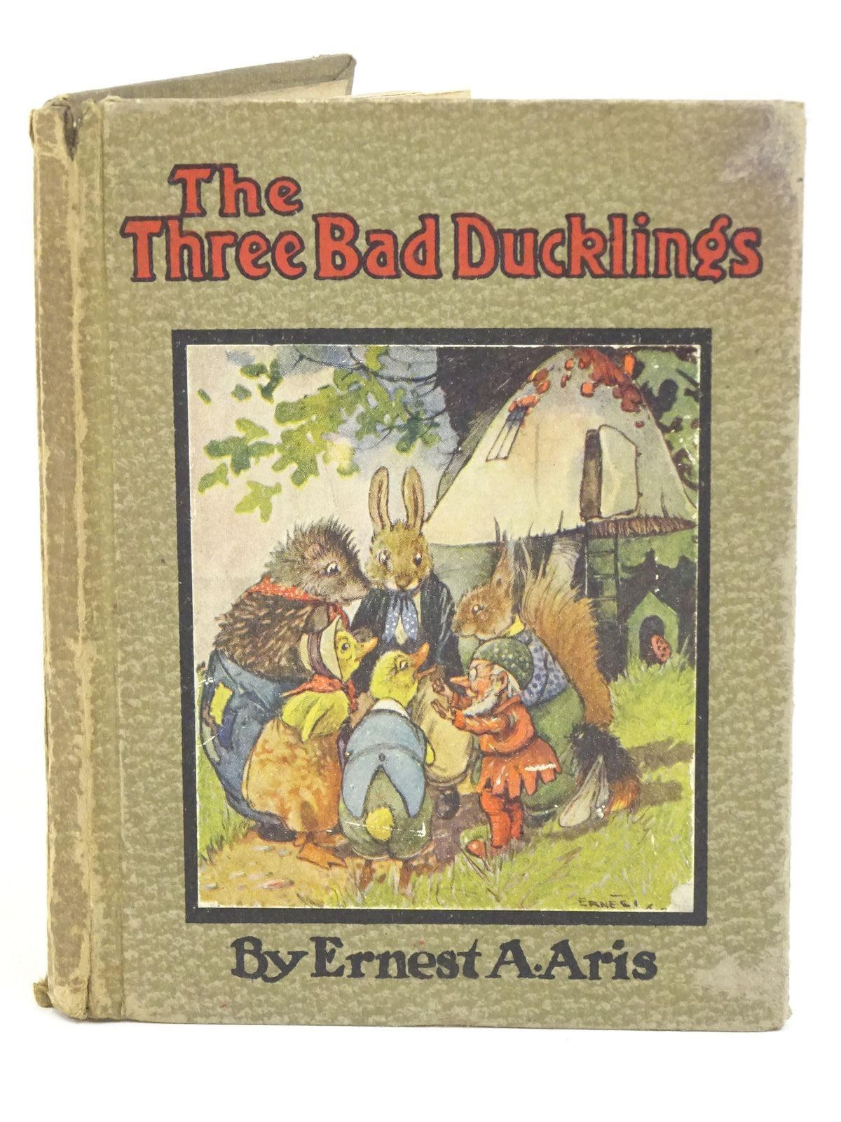 Photo of THE THREE BAD DUCKLINGS written by Aris, Ernest A. illustrated by Aris, Ernest A. published by S.W. Partridge & Co. Ltd. (STOCK CODE: 1318024)  for sale by Stella & Rose's Books