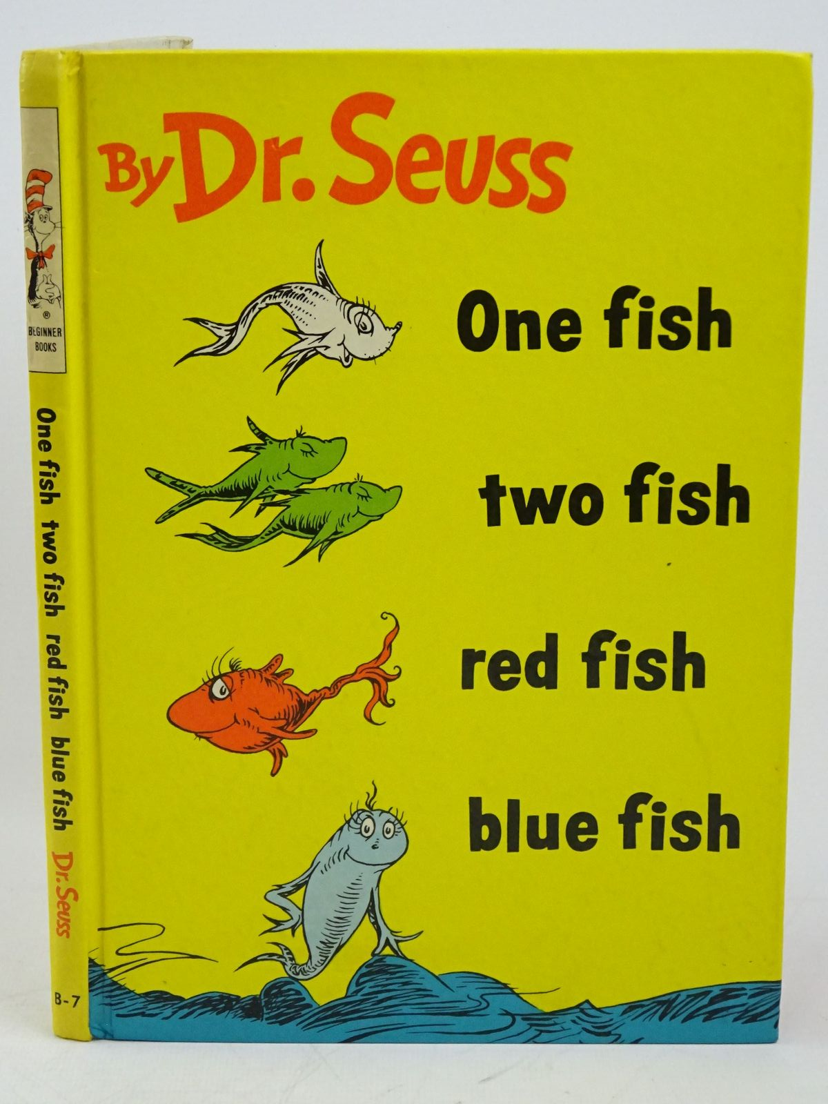 Photo of ONE FISH, TWO FISH, RED FISH, BLUE FISH written by Seuss, Dr. illustrated by Seuss, Dr. published by Collins & Harvill (STOCK CODE: 1318027)  for sale by Stella & Rose's Books