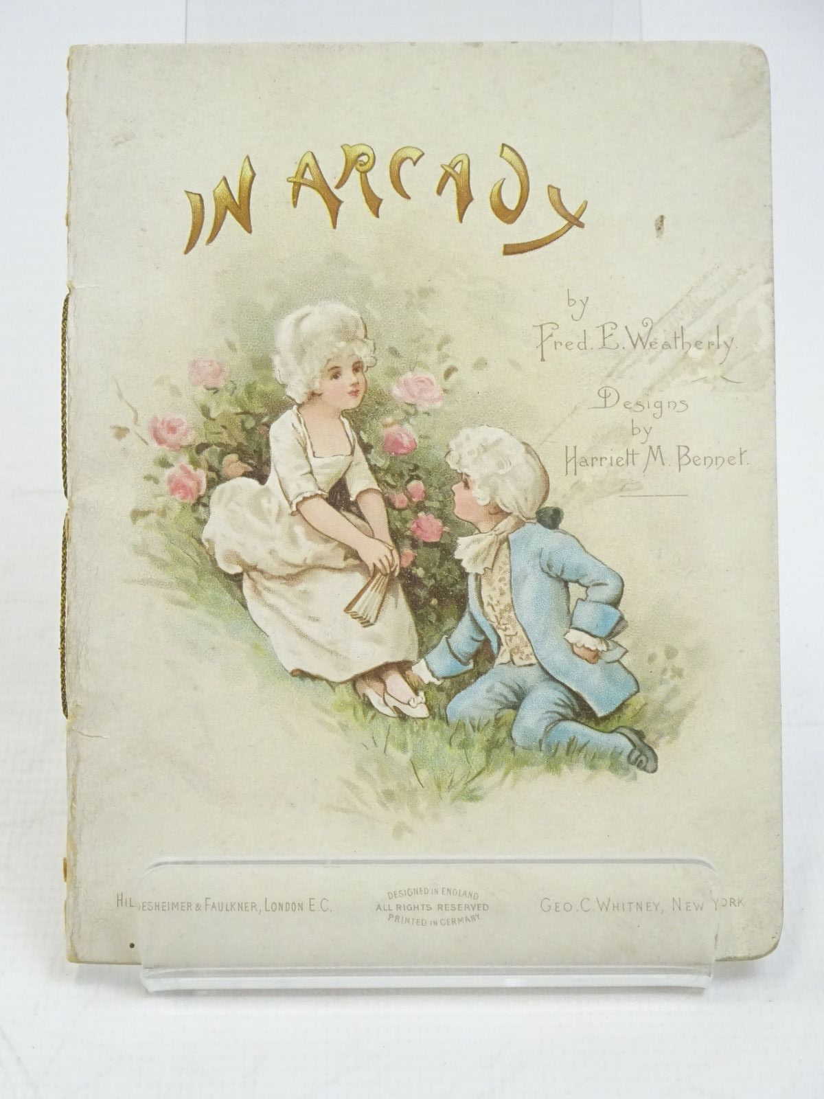 Photo of IN ARCADY written by Weatherly, F.E. illustrated by Bennett, Harriett M. published by Hildesheimer & Faulkner (STOCK CODE: 1318035)  for sale by Stella & Rose's Books