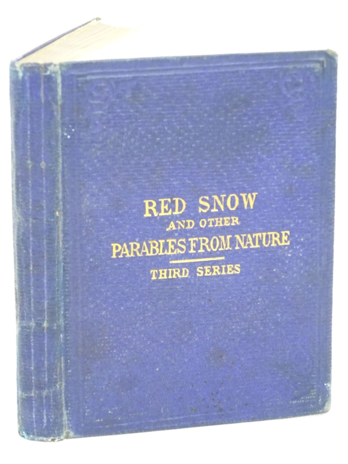 Photo of RED SNOW AND OTHER PARABLES FROM NATURE written by Gatty, Mrs. Alfred published by Bell and Daldy (STOCK CODE: 1318038)  for sale by Stella & Rose's Books