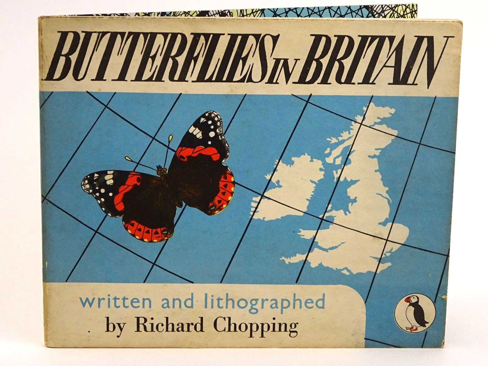 Photo of BUTTERFLIES IN BRITAIN written by Chopping, Richard illustrated by Chopping, Richard published by Penguin (STOCK CODE: 1318088)  for sale by Stella & Rose's Books