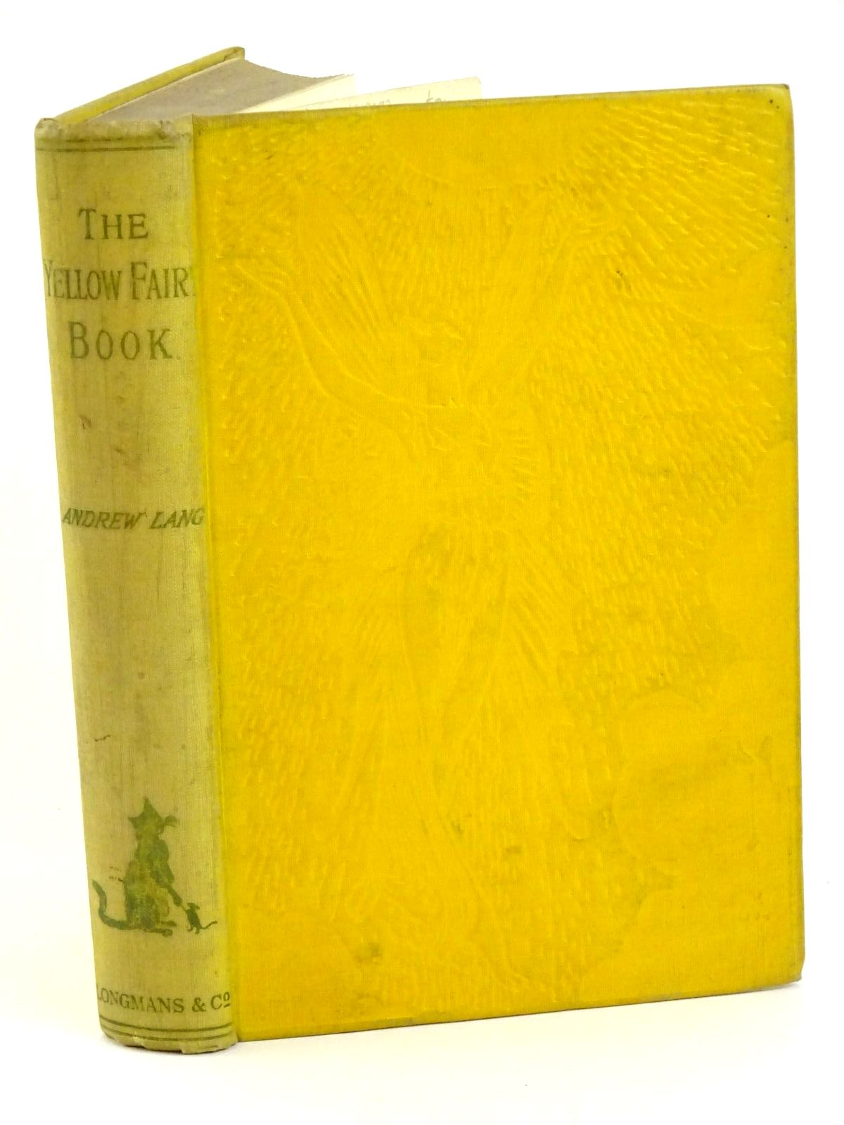 Photo of THE YELLOW FAIRY BOOK written by Lang, Andrew illustrated by Ford, H.J. published by Longmans, Green and Co. Ltd. (STOCK CODE: 1318092)  for sale by Stella & Rose's Books