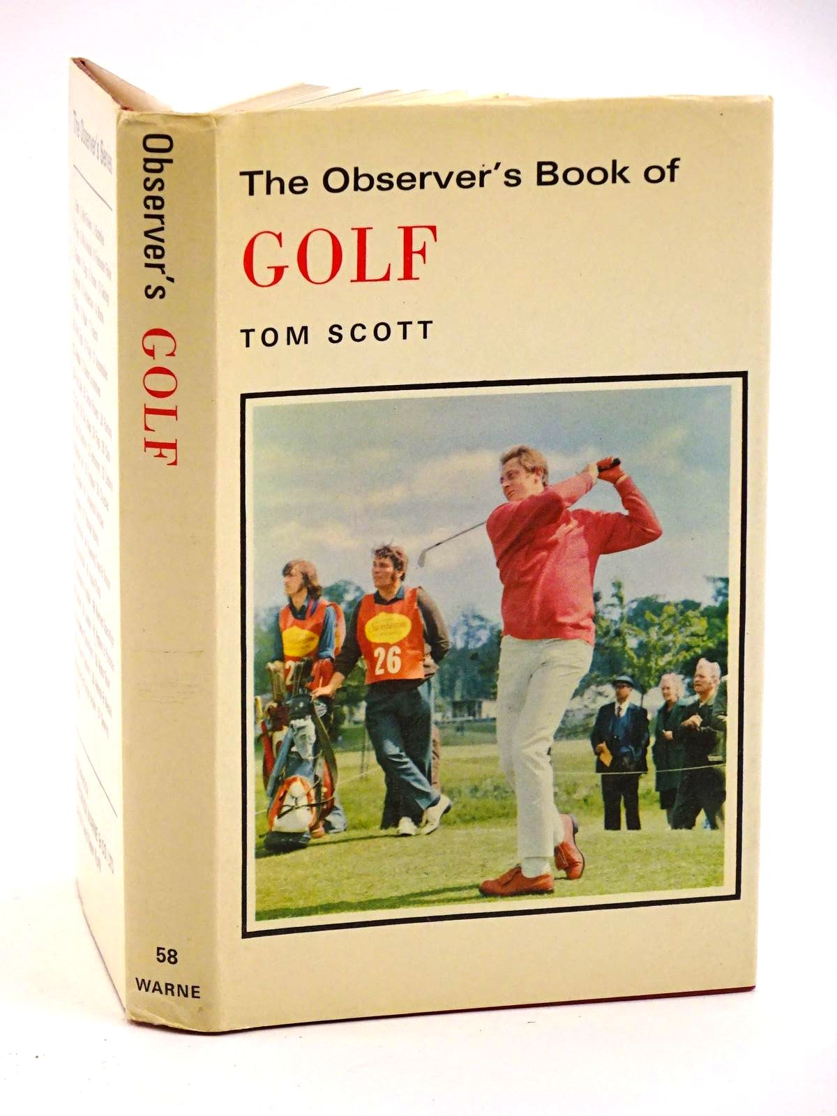 Photo of THE OBSERVER'S BOOK OF GOLF written by Scott, Tom published by Frederick Warne & Co Ltd. (STOCK CODE: 1318133)  for sale by Stella & Rose's Books