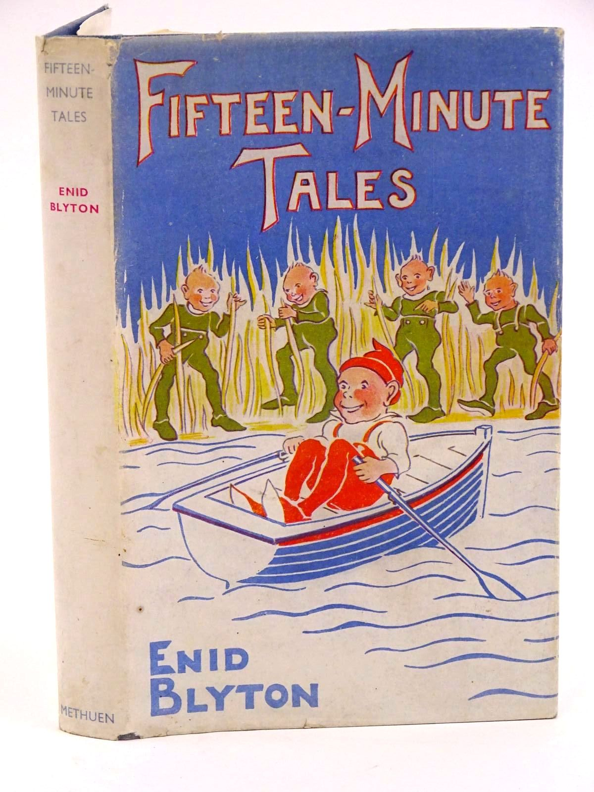 Photo of FIFTEEN-MINUTE TALES written by Blyton, Enid published by Methuen & Co. Ltd. (STOCK CODE: 1318150)  for sale by Stella & Rose's Books