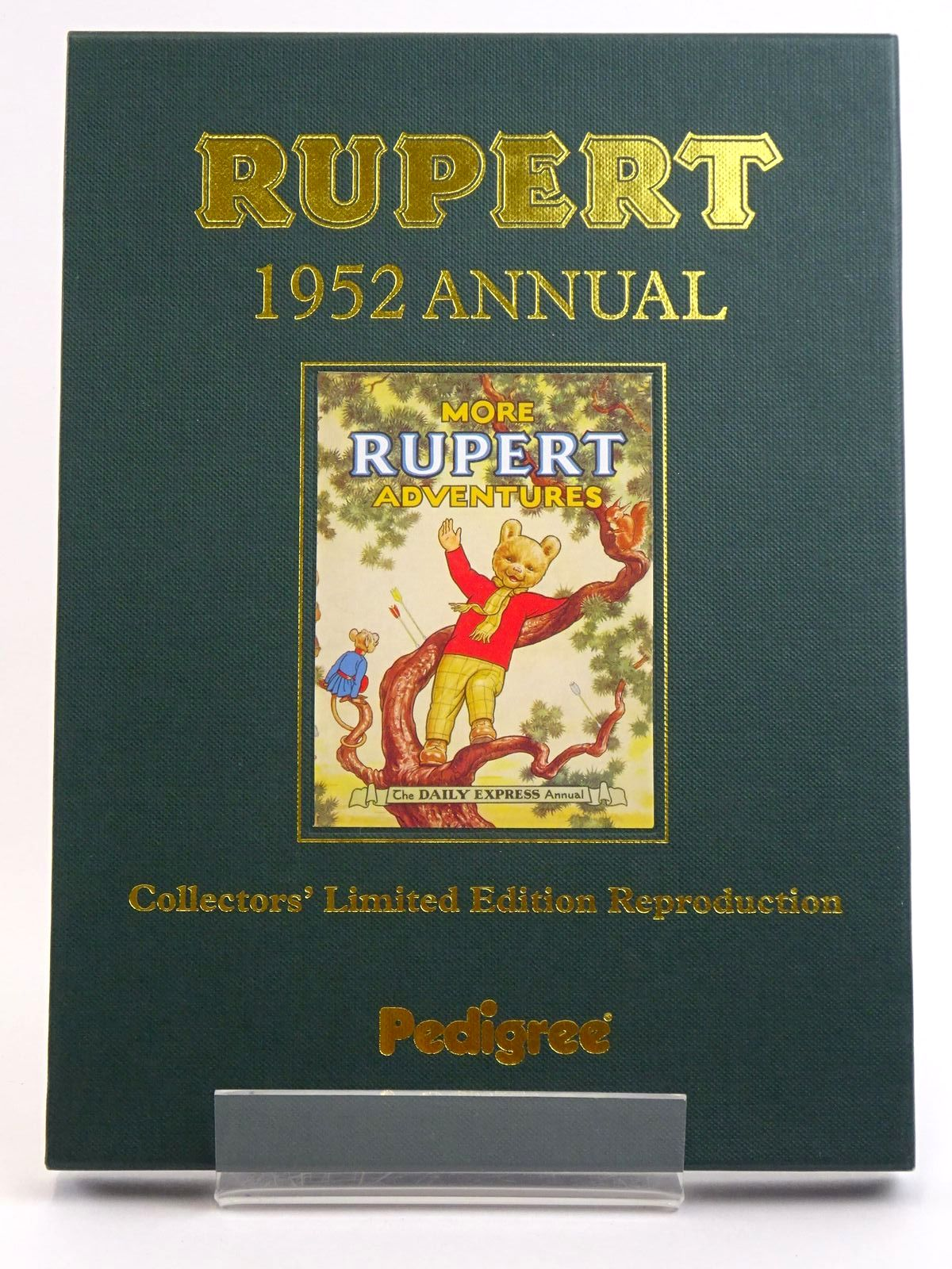 Photo of RUPERT ANNUAL 1952 (FACSIMILE) - MORE RUPERT ADVENTURES written by Bestall, Alfred illustrated by Bestall, Alfred published by Pedigree Books Limited (STOCK CODE: 1318156)  for sale by Stella & Rose's Books