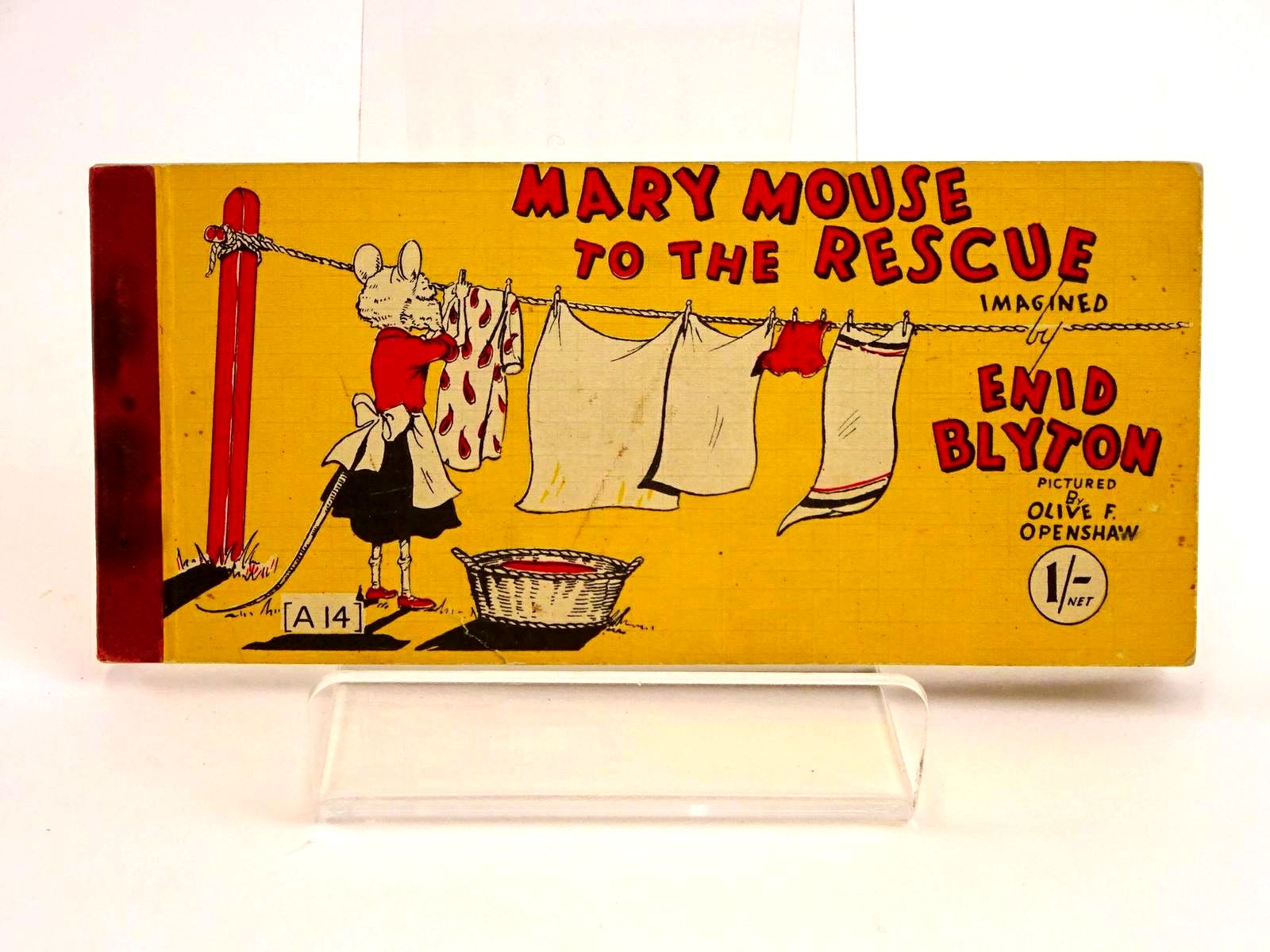 Photo of MARY MOUSE TO THE RESCUE written by Blyton, Enid illustrated by Openshaw, Olive F. published by Brockhampton Press Ltd. (STOCK CODE: 1318190)  for sale by Stella & Rose's Books
