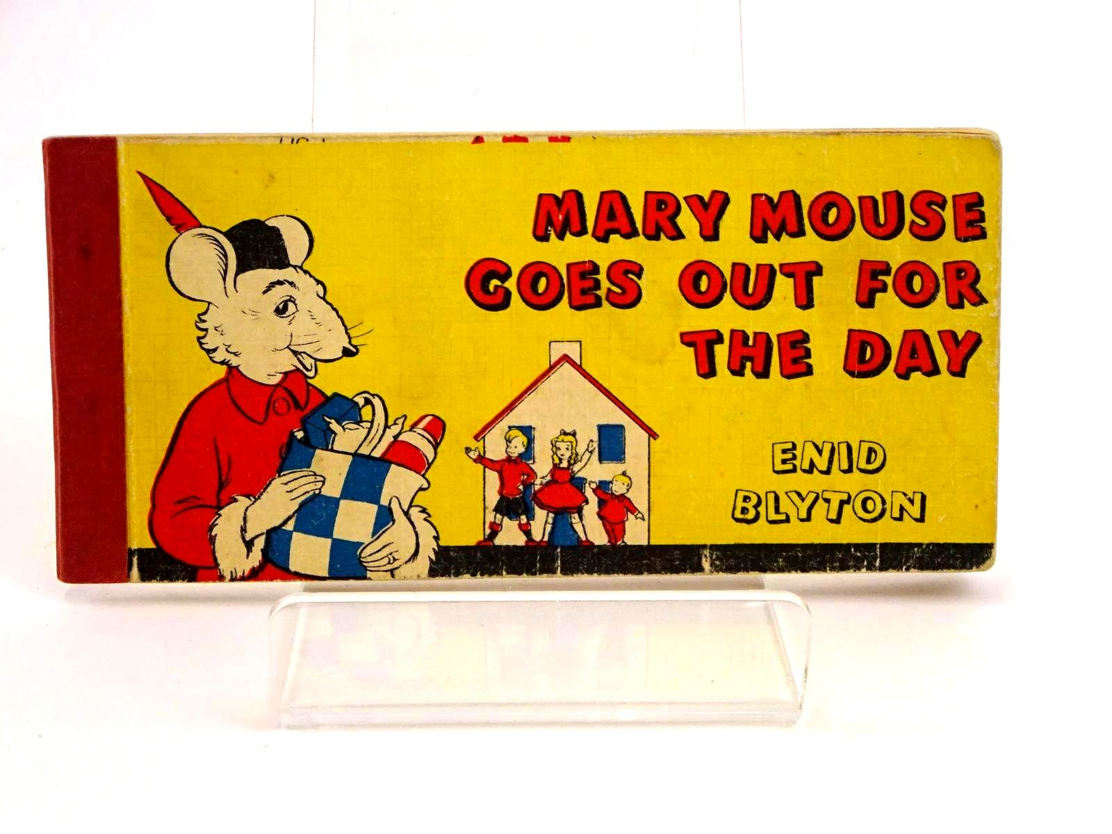 Photo of MARY MOUSE GOES OUT FOR THE DAY written by Blyton, Enid illustrated by White, Fred published by Brockhampton Press (STOCK CODE: 1318191)  for sale by Stella & Rose's Books