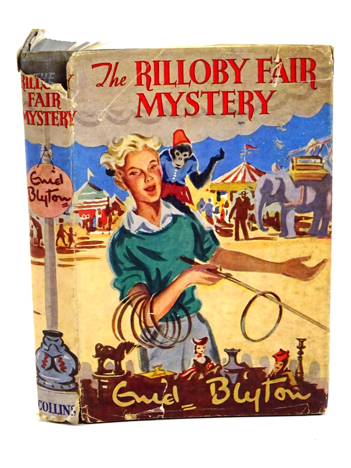 Photo of THE RILLOBY FAIR MYSTERY written by Blyton, Enid illustrated by Dunlop, Gilbert published by Collins (STOCK CODE: 1318203)  for sale by Stella & Rose's Books
