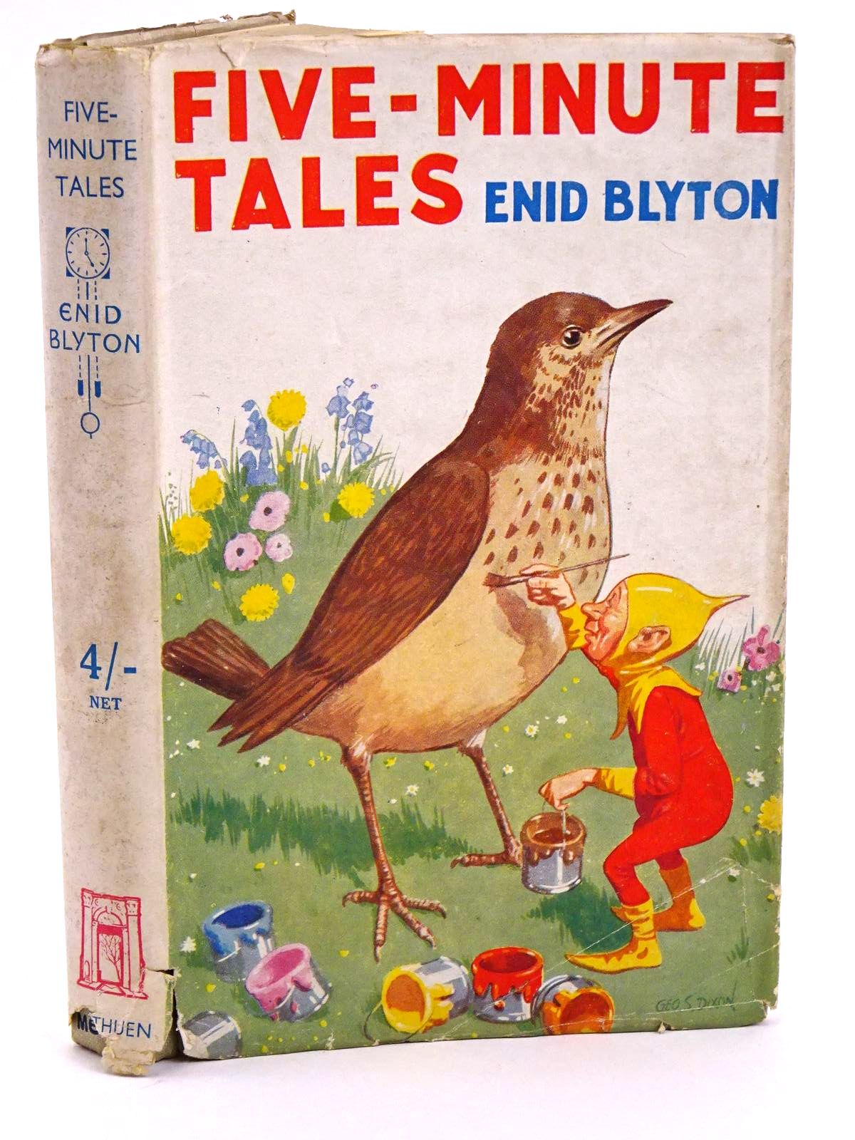 Photo of FIVE-MINUTE TALES written by Blyton, Enid published by Methuen & Co. Ltd. (STOCK CODE: 1318205)  for sale by Stella & Rose's Books