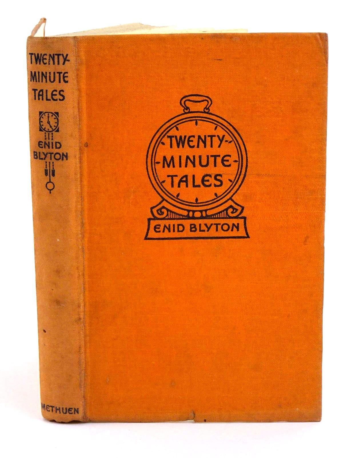 Photo of TWENTY-MINUTE TALES written by Blyton, Enid published by Methuen & Co. Ltd. (STOCK CODE: 1318213)  for sale by Stella & Rose's Books