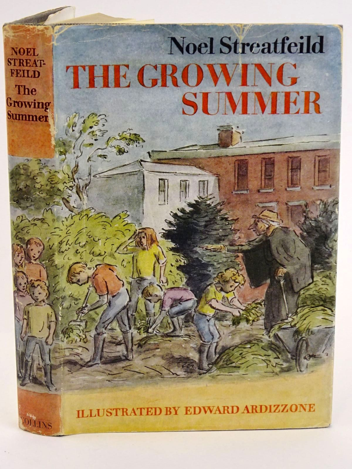 Photo of THE GROWING SUMMER written by Streatfeild, Noel illustrated by Ardizzone, Edward published by Collins (STOCK CODE: 1318215)  for sale by Stella & Rose's Books