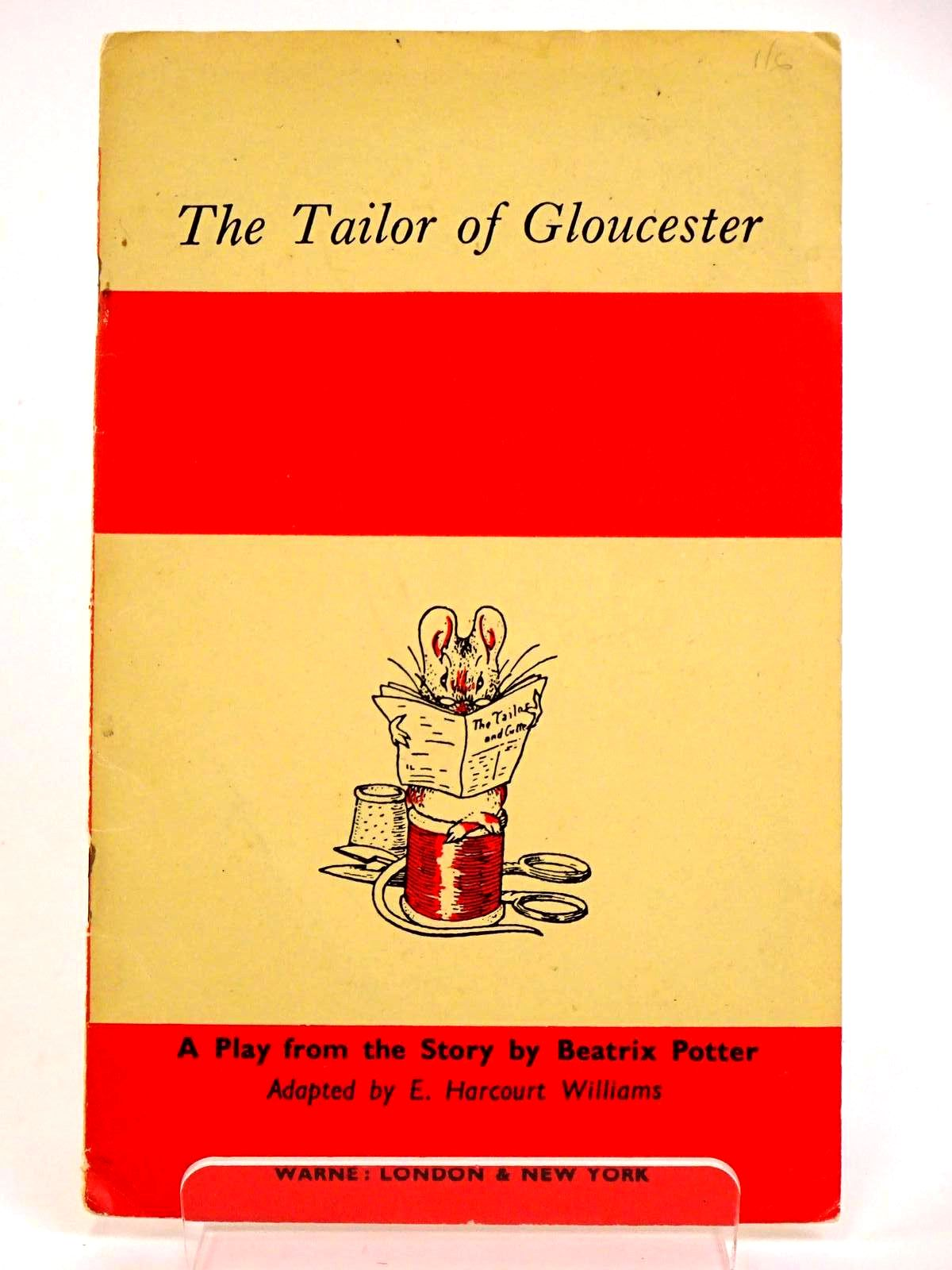 Photo of THE TAILOR OF GLOUCESTER written by Potter, Beatrix<br />Williams, E. Harcourt illustrated by Potter, Beatrix published by Frederick Warne & Co Ltd. (STOCK CODE: 1318234)  for sale by Stella & Rose's Books