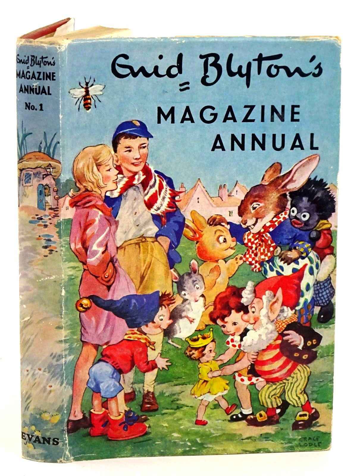 Photo of ENID BLYTON'S MAGAZINE ANNUAL No. 1 written by Blyton, Enid published by Evans Brothers Limited (STOCK CODE: 1318239)  for sale by Stella & Rose's Books