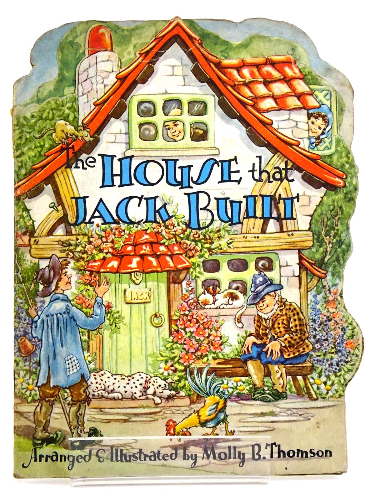 Photo of THE HOUSE THAT JACK BUILT written by Thomson, Molly B. illustrated by Thomson, Molly B. published by Collins Clear-Type Press (STOCK CODE: 1318259)  for sale by Stella & Rose's Books