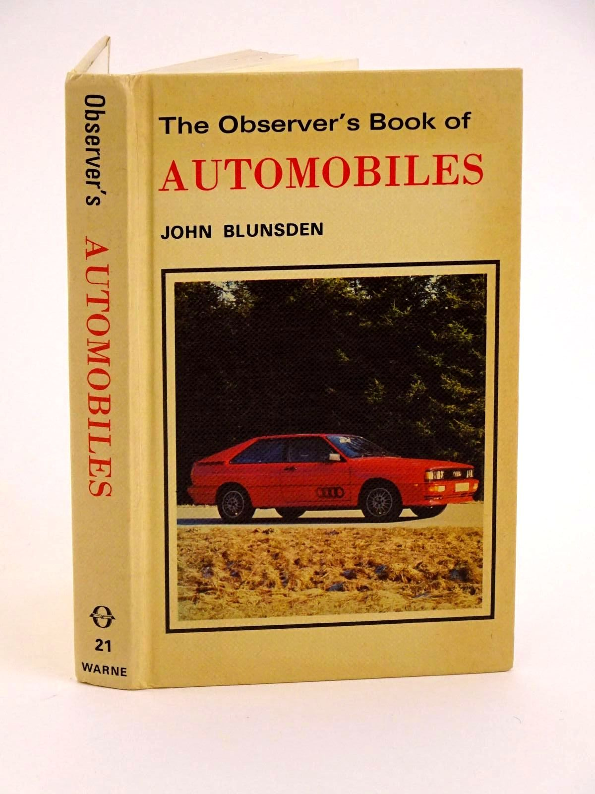 Photo of THE OBSERVER'S BOOK OF AUTOMOBILES written by Blunsden, John published by Frederick Warne (STOCK CODE: 1318264)  for sale by Stella & Rose's Books