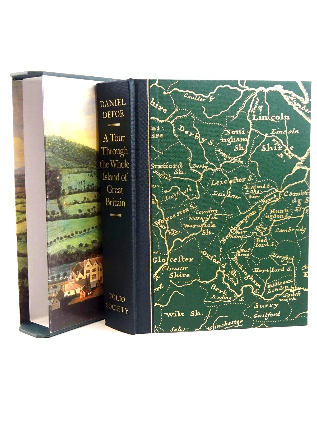 Photo of A TOUR THROUGH THE WHOLE ISLAND OF GREAT BRITAIN written by Defoe, Daniel published by Folio Society (STOCK CODE: 1318283)  for sale by Stella & Rose's Books