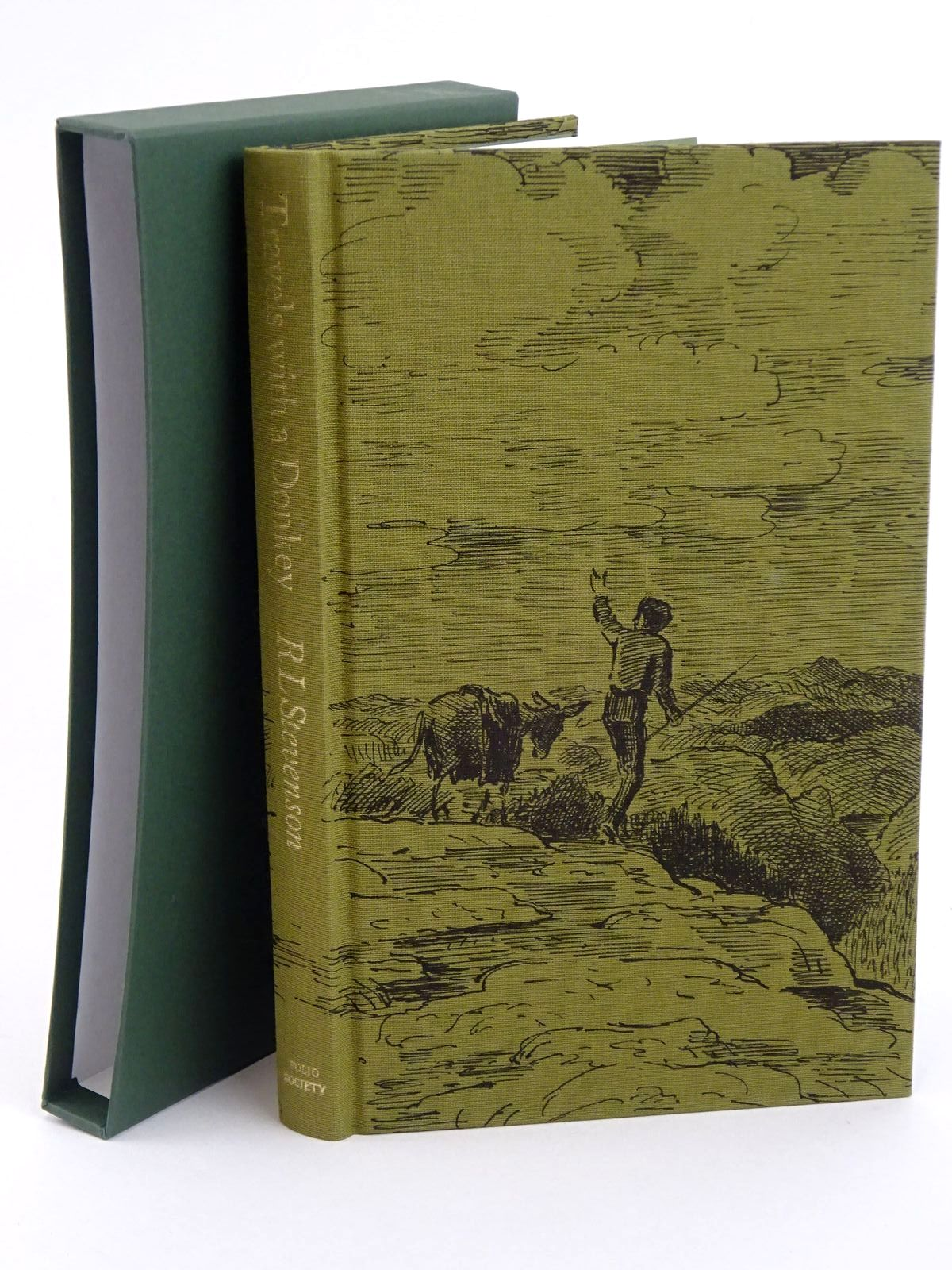 Photo of TRAVELS WITH A DONKEY IN THE CEVENNES written by Stevenson, Robert Louis illustrated by Ardizzone, Edward published by Folio Society (STOCK CODE: 1318289)  for sale by Stella & Rose's Books