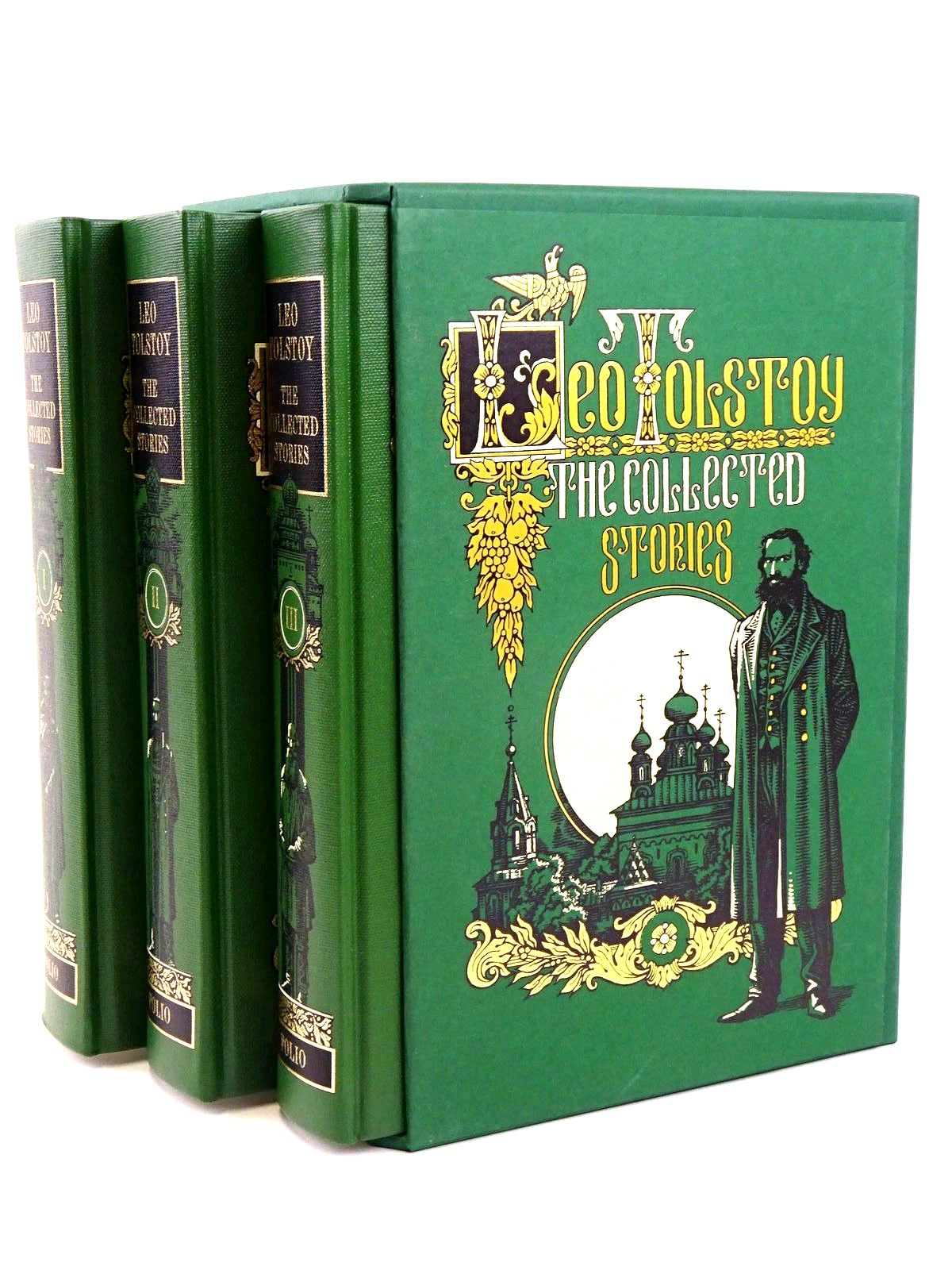 Photo of THE COLLECTED STORIES (3 VOLUMES) written by Tolstoy, Leo illustrated by Pisarev, Roman published by Folio Society (STOCK CODE: 1318305)  for sale by Stella & Rose's Books