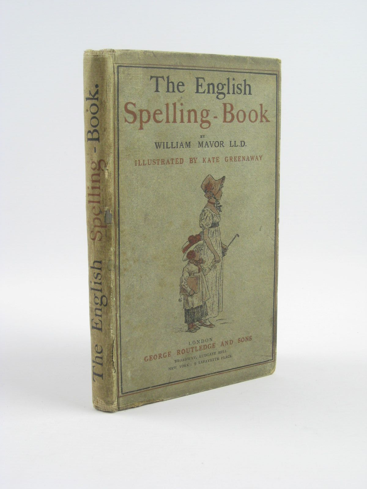 Photo of THE ENGLISH SPELLING-BOOK