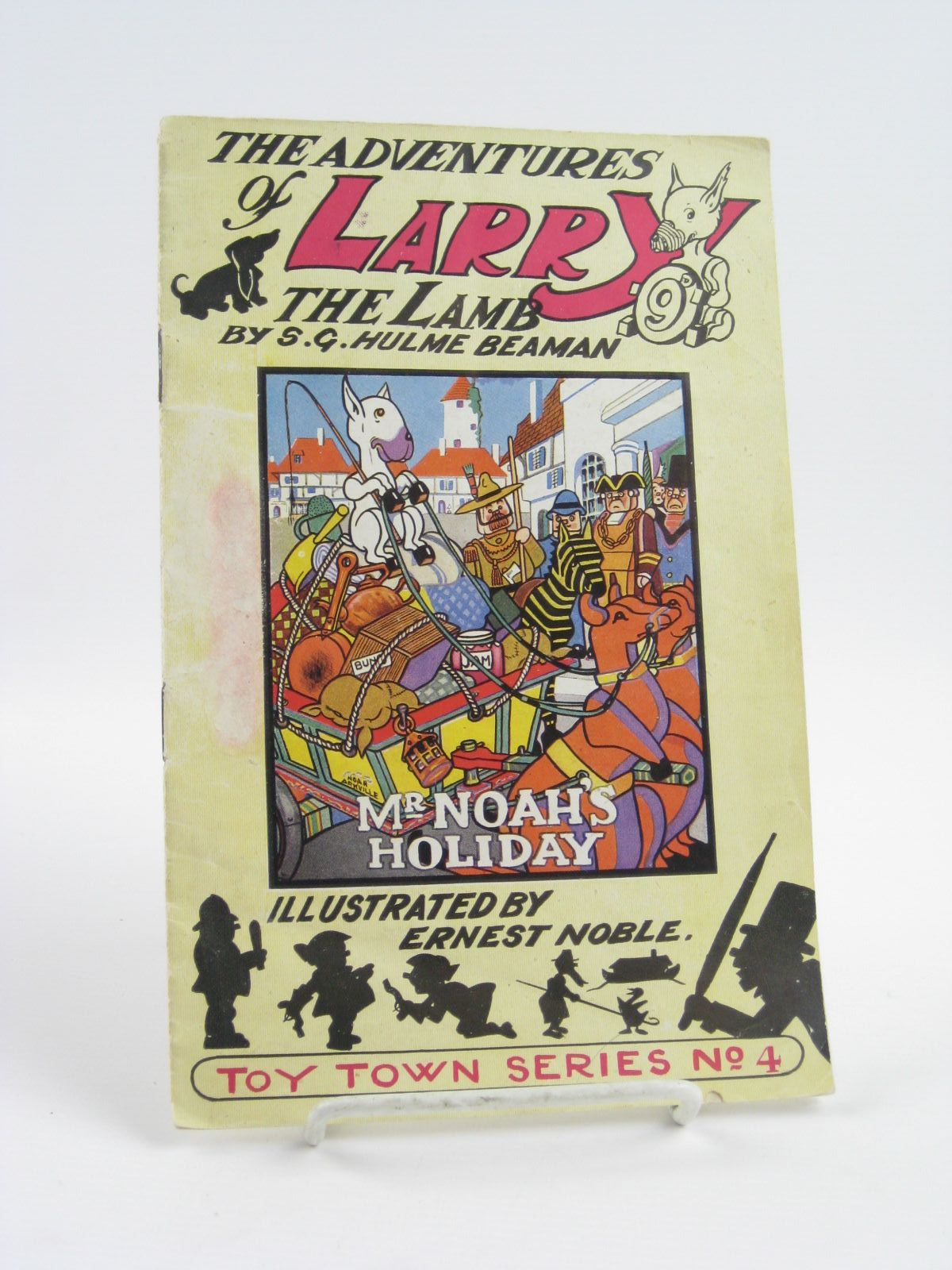 Photo of THE ADVENTURES OF LARRY THE LAMB - MR. NOAH'S HOLIDAY written by Beaman, S.G. Hulme illustrated by Noble, Ernest published by George Lapworth & Co Ltd. (STOCK CODE: 1401614)  for sale by Stella & Rose's Books